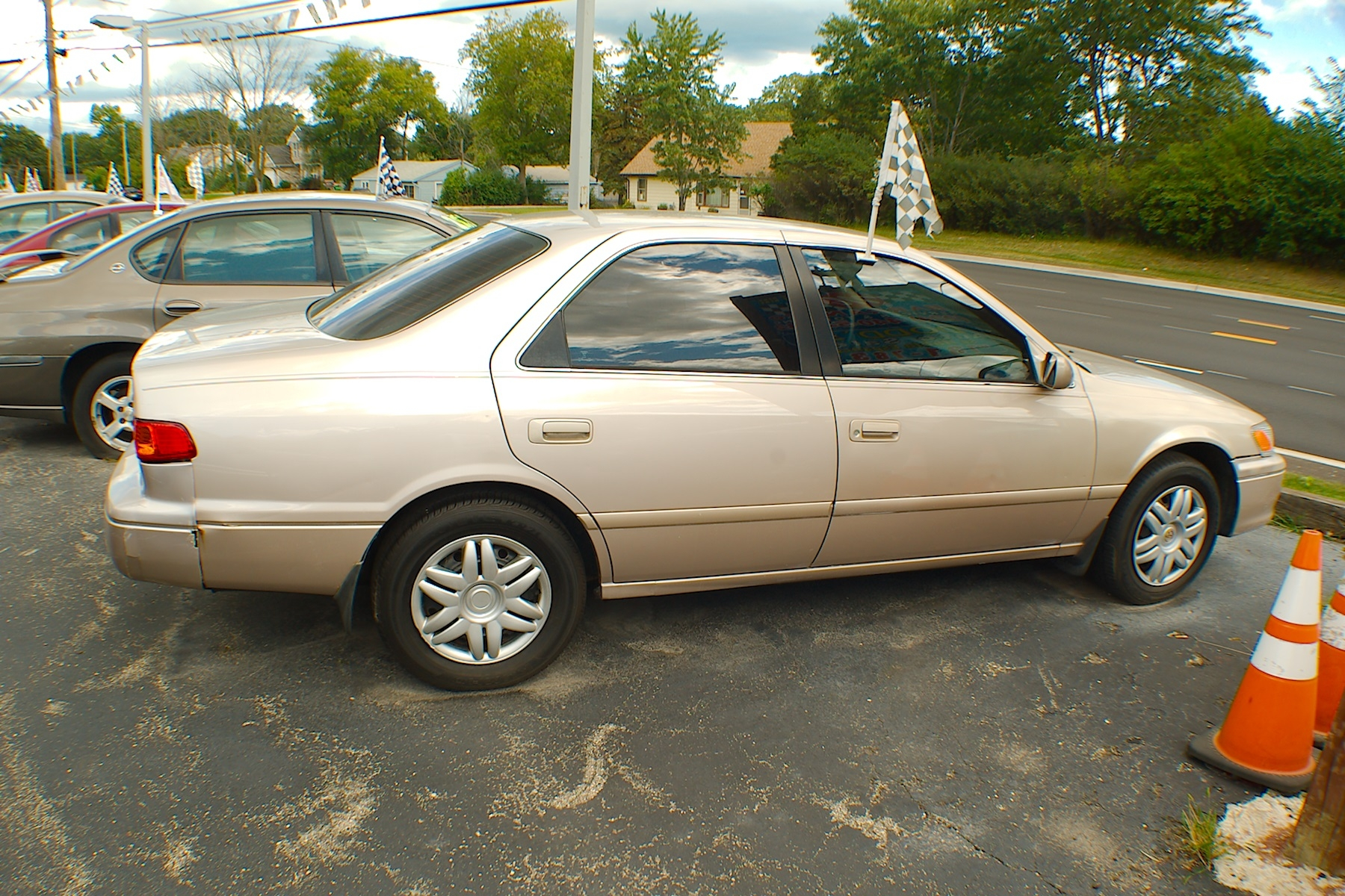 2001 Toyota Camry LE Sand Sedan Used Car Sale Bannockburn Barrington Beach Park
