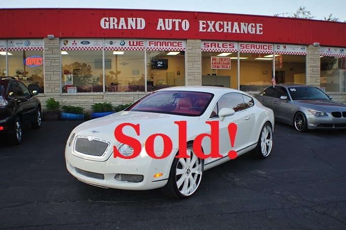 2004 Bentley Continental GT White Turbo Coupe Sale Antioch Zion Waukegan