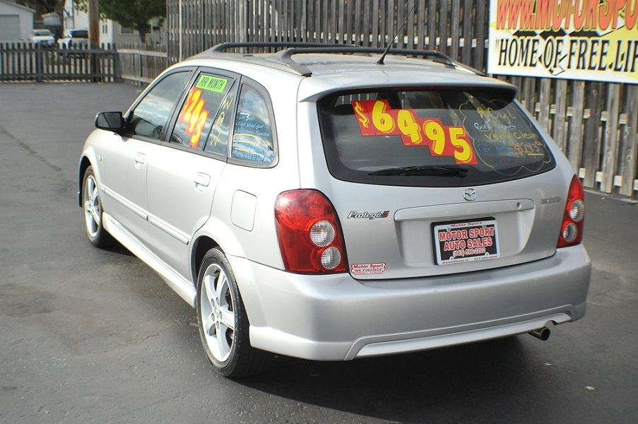 2003 Mazda Protege 5 Silver Manual Sedan Car Sale Fox Lake Fox River Grove Grayslake