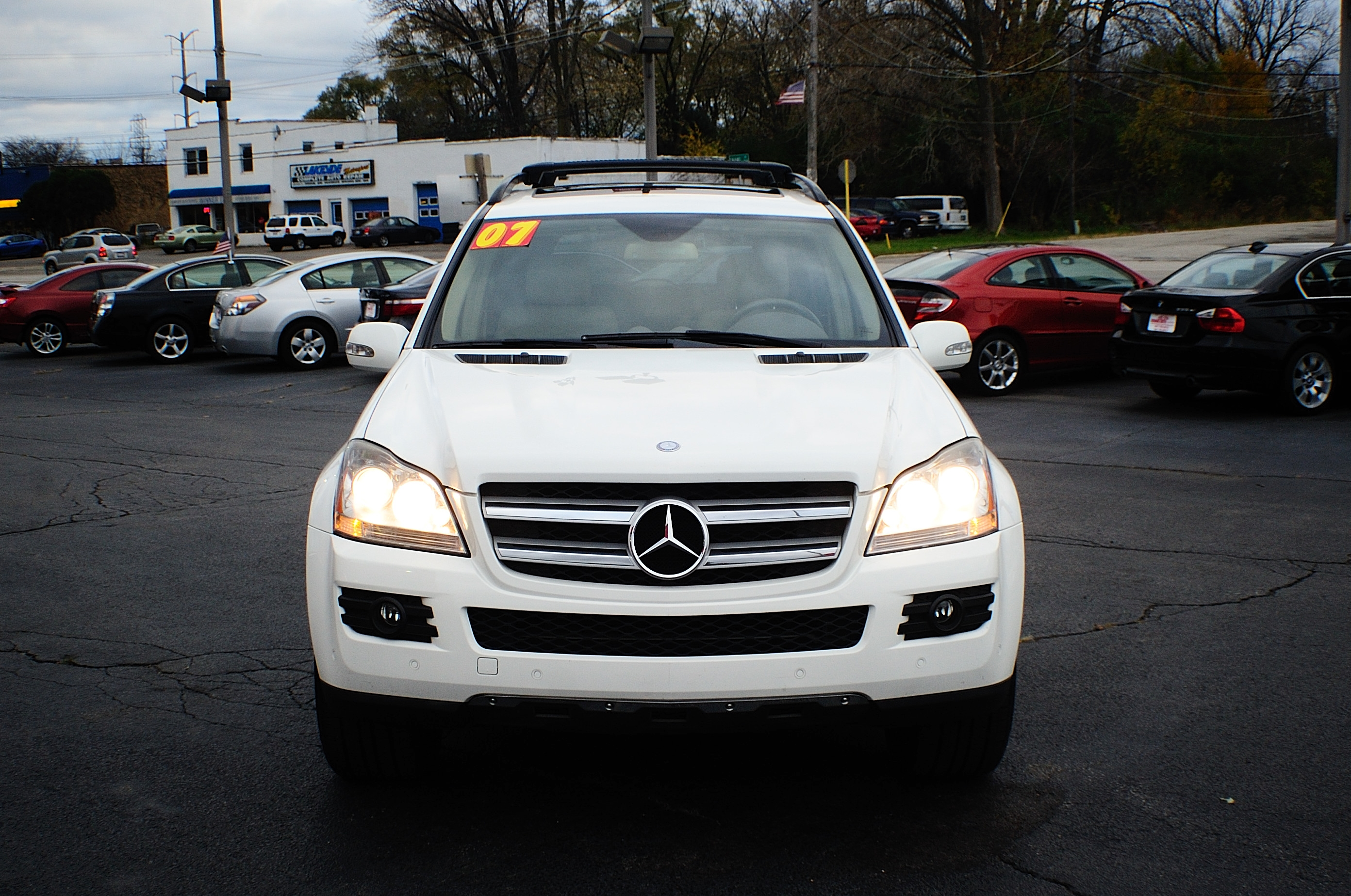 Image gallery 2007 mercedes suv for 2007 mercedes benz gl class gl450 price