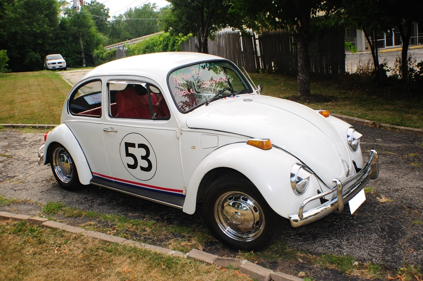 1971 Volkswagen Bug Beetle Herbie Replica Manual VW Sale Gurnee Kenosha Mchenry Chicago Illinois
