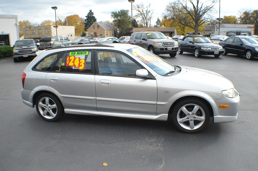 2003 Mazda Protege 5 Silver Manual Sedan Car Sale Mchenry Bannockburn Barrington