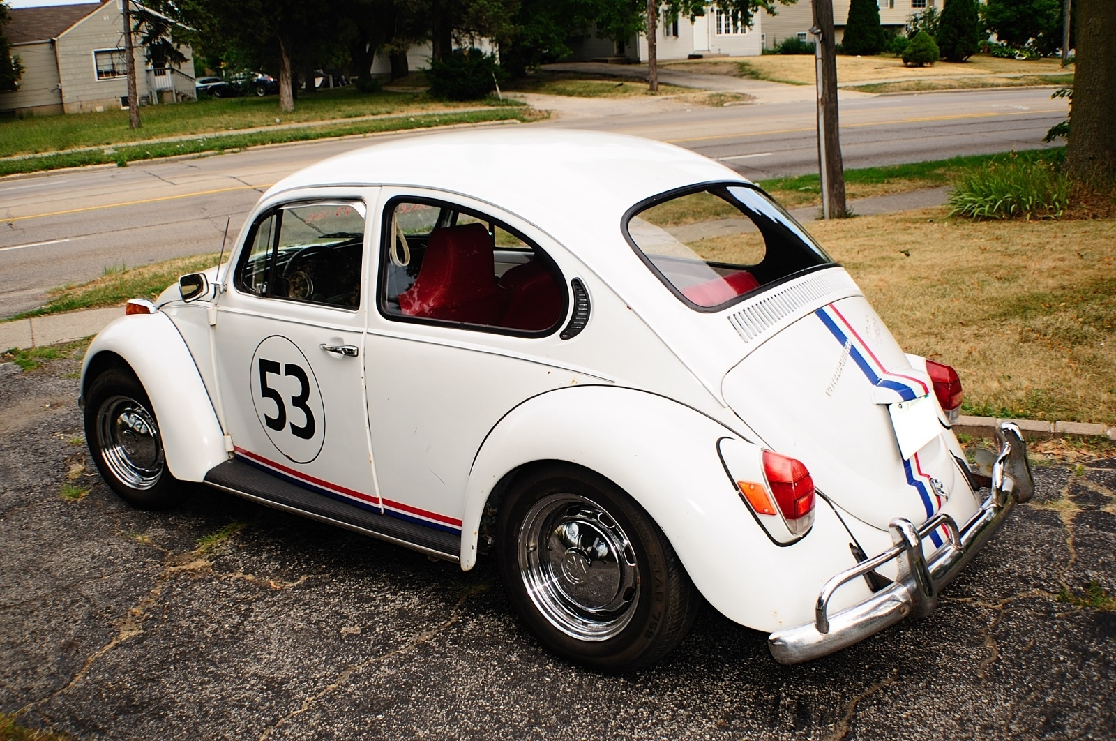 1971 Volkswagen Bug Beetle Herbie Replica Manual VW Sale Buffalo Grove Deerfield Fox Lake