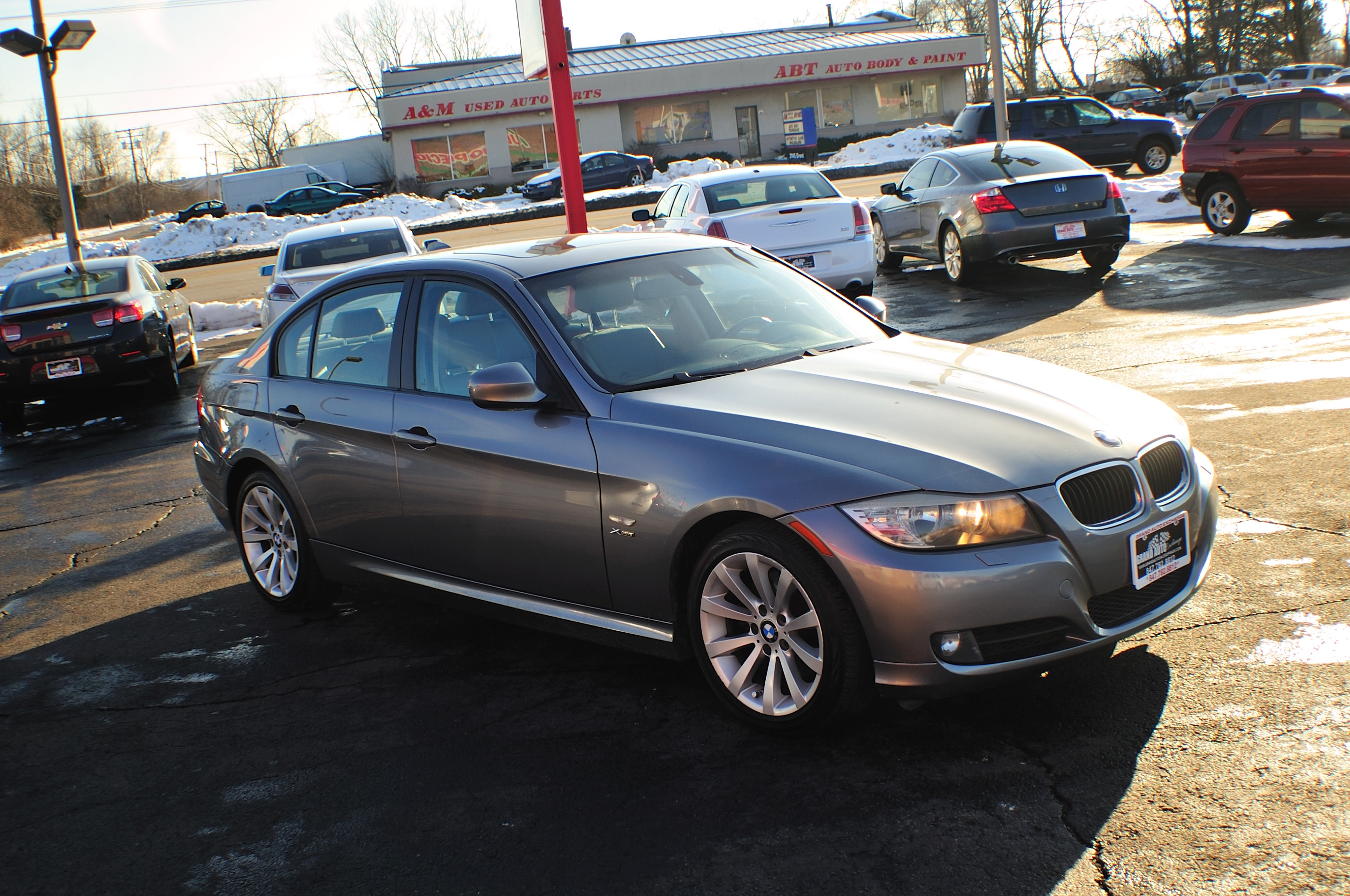 2009 BMW 328i Blue Used Sport Sedan Sale Bannockburn Barrington Beach Park
