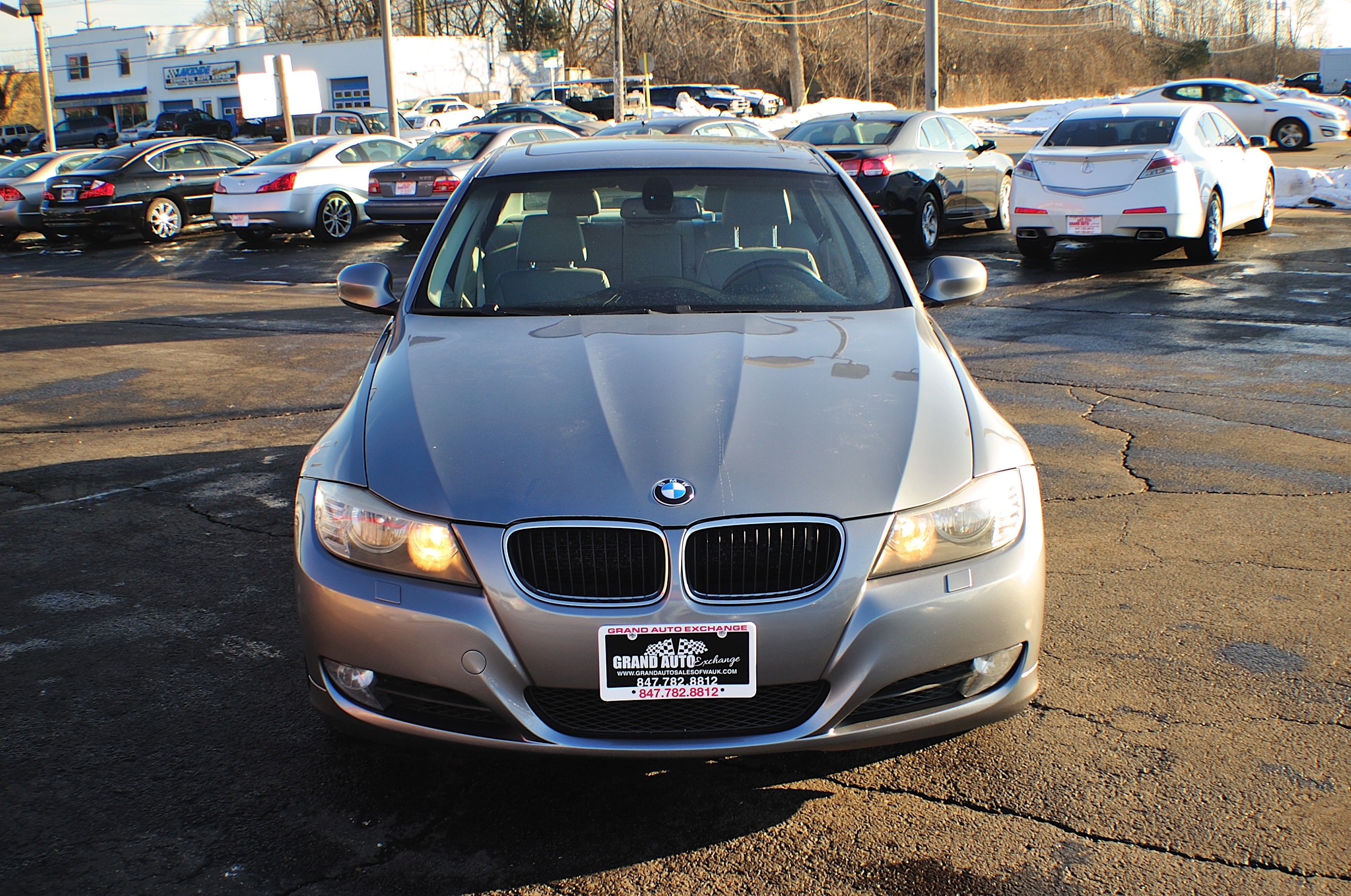 2009 BMW 328i Blue Used Sport Sedan Sale Gurnee Kenosha Mchenry