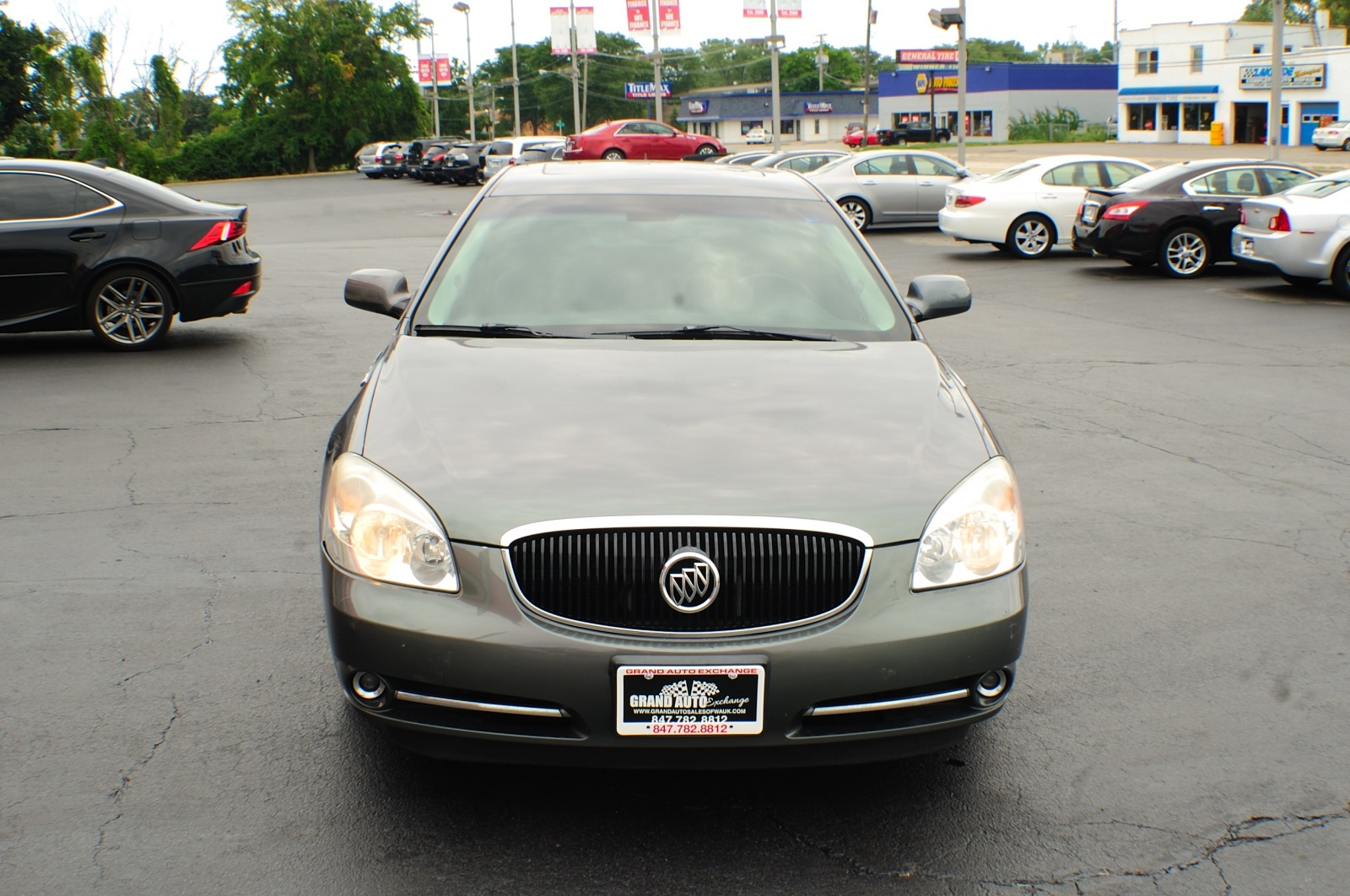 2006 Buick Lucerne CXS Green Sedan Sale Gurnee Kenosha Mchenry Chicago Illinois