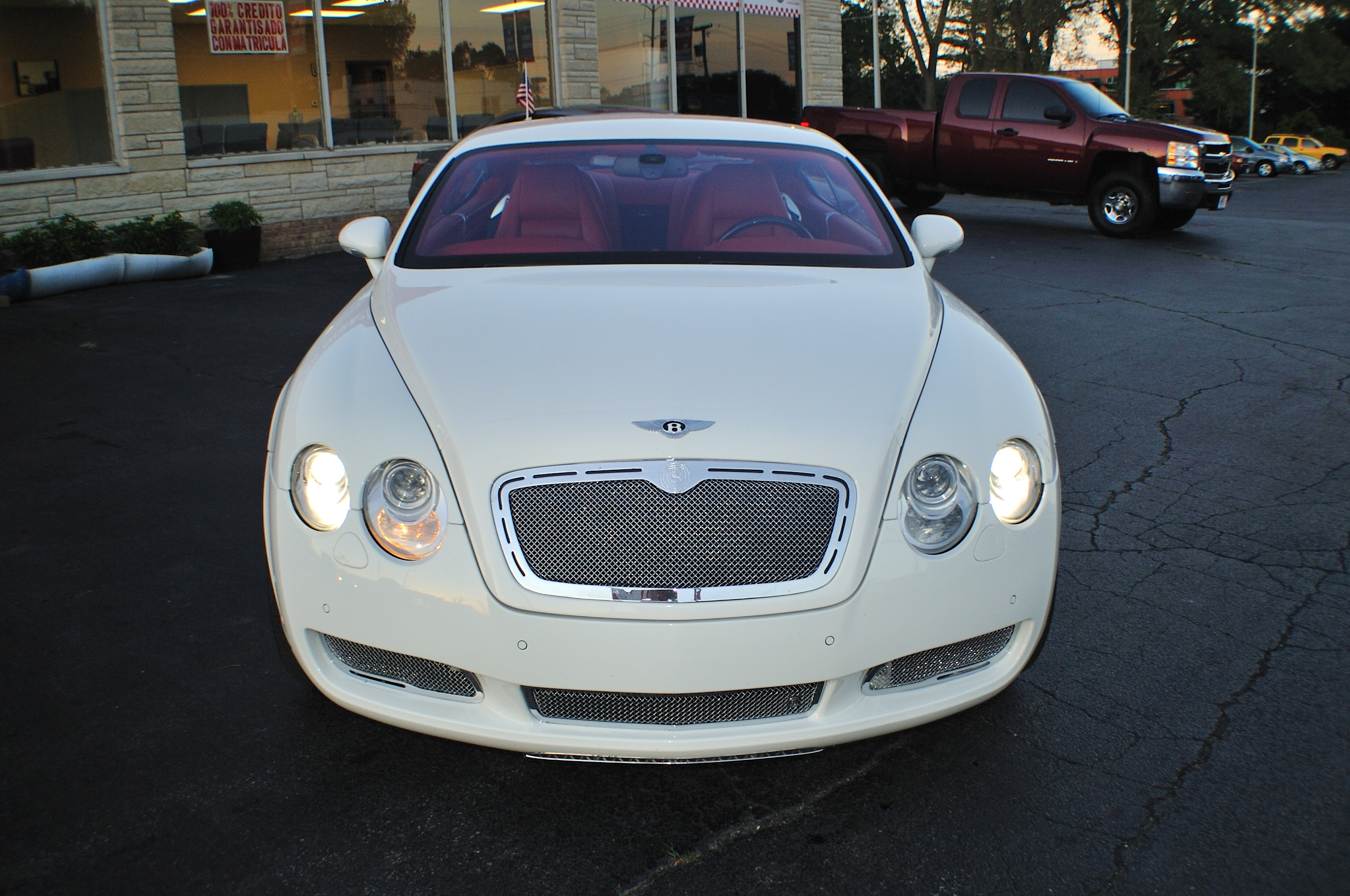 2004 Bentley Continental GT White Turbo Coupe Sale Gurnee Kenosha Mchenry