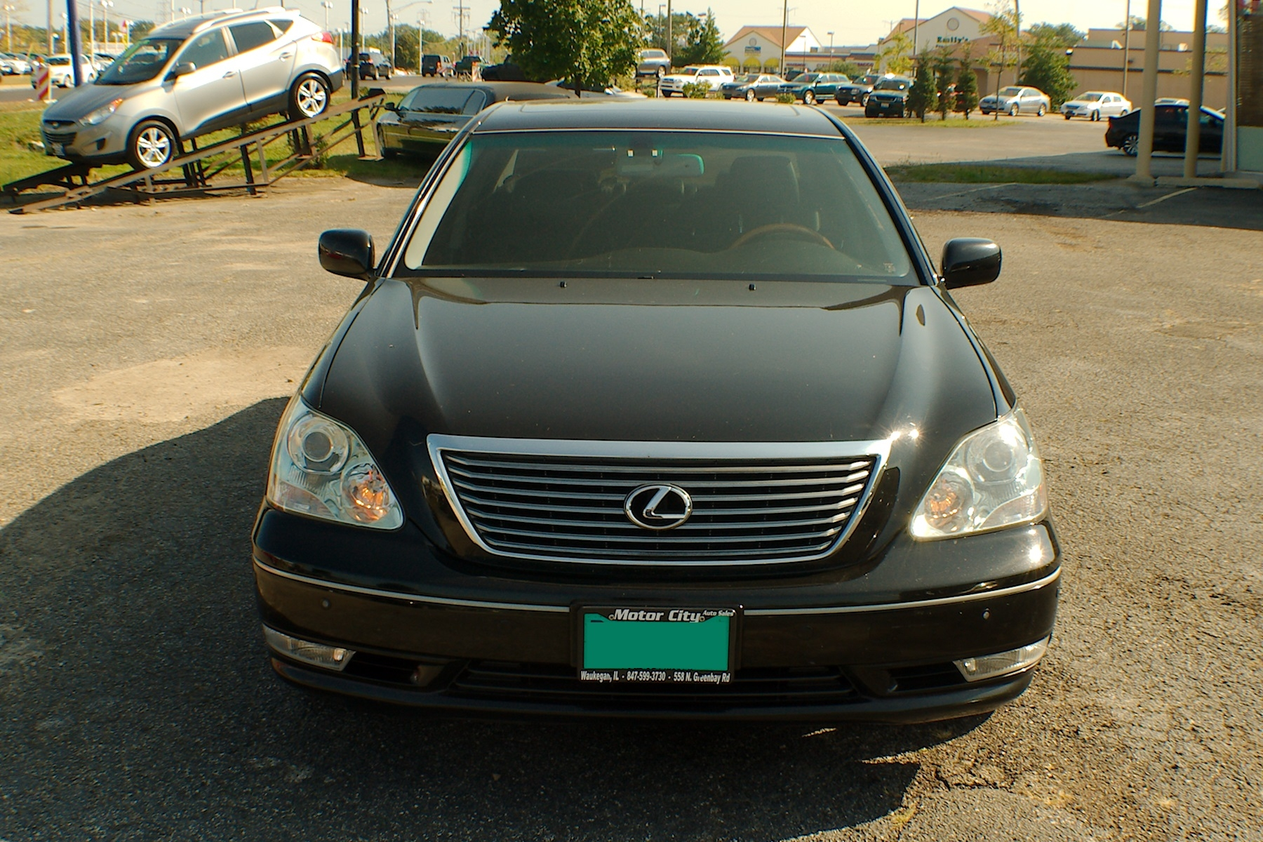 2006 Lexus LS430 Black Sedan Used Car Sale Gurnee Kenosha Mchenry Chicago Illinois