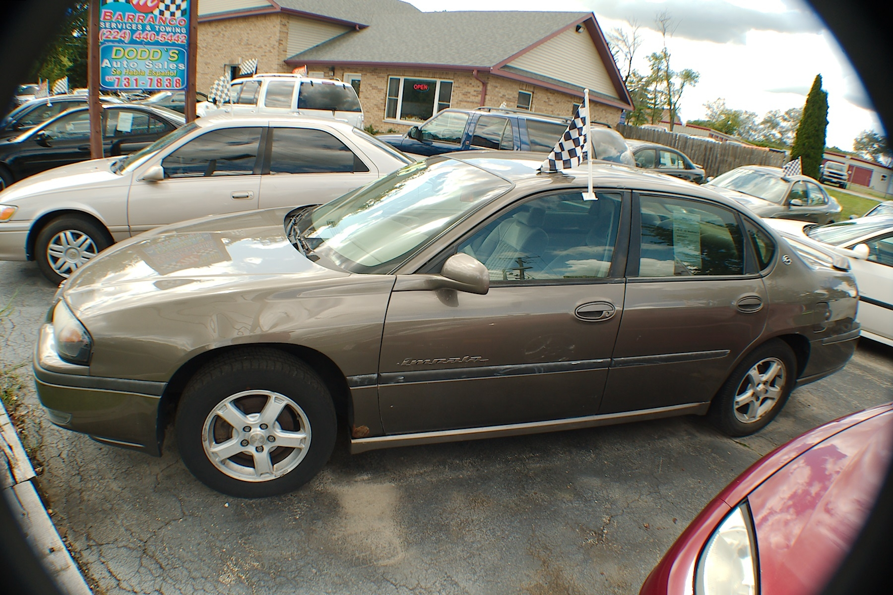 2003 Chevrolet Impala LS Brown Sedan Used Chevy Sale Antioch Zion Waukegan Lake County Illinois