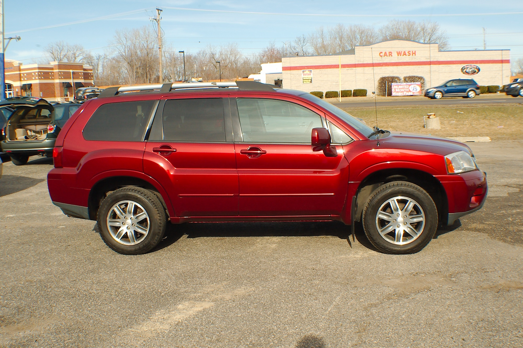2006 Mitsubishi Endeavor AWD Burgundy SUV Sale Buffalo Grove Deerfield Fox Lake Antioch