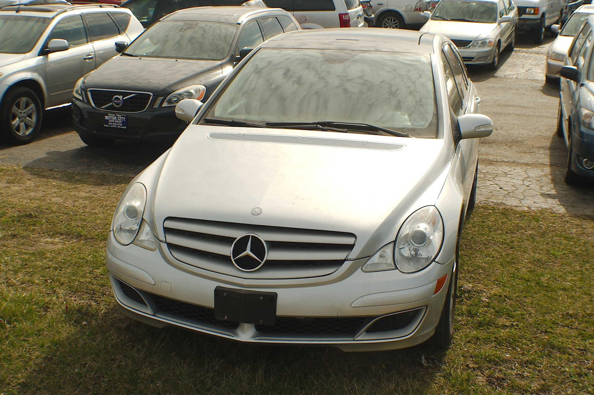 2006 Mercedes R350 4Matic Silver AWD Wagon Sale Gurnee Kenosha Mchenry Chicago Illinois