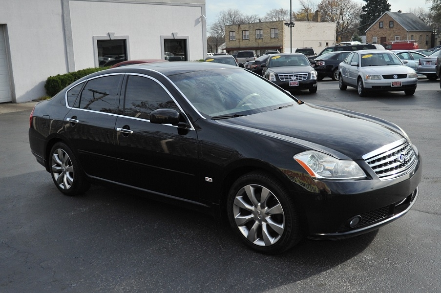 2007 Infiniti M35 Black used Sedan Car Sale Gurnee Kenosha Mchenry
