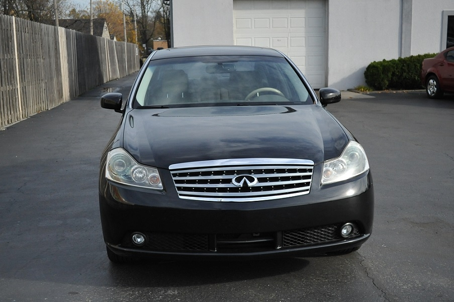 2007 Infiniti M35 Black Sedan Car Sale Waukegan