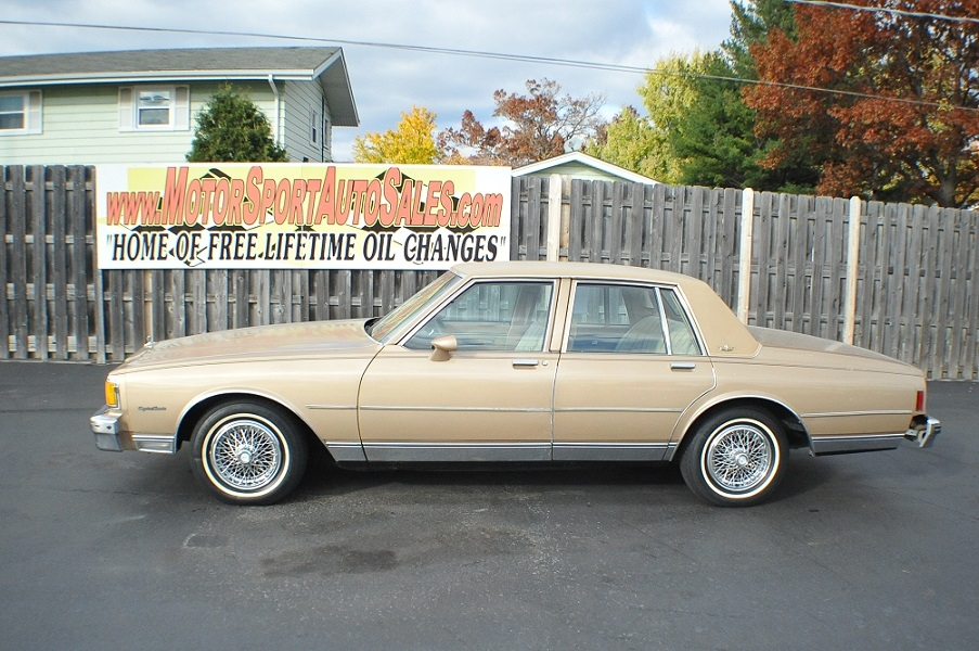 1985 Chevrolet Caprice Classic Sedan Chevy Best Car Sale Waukegan