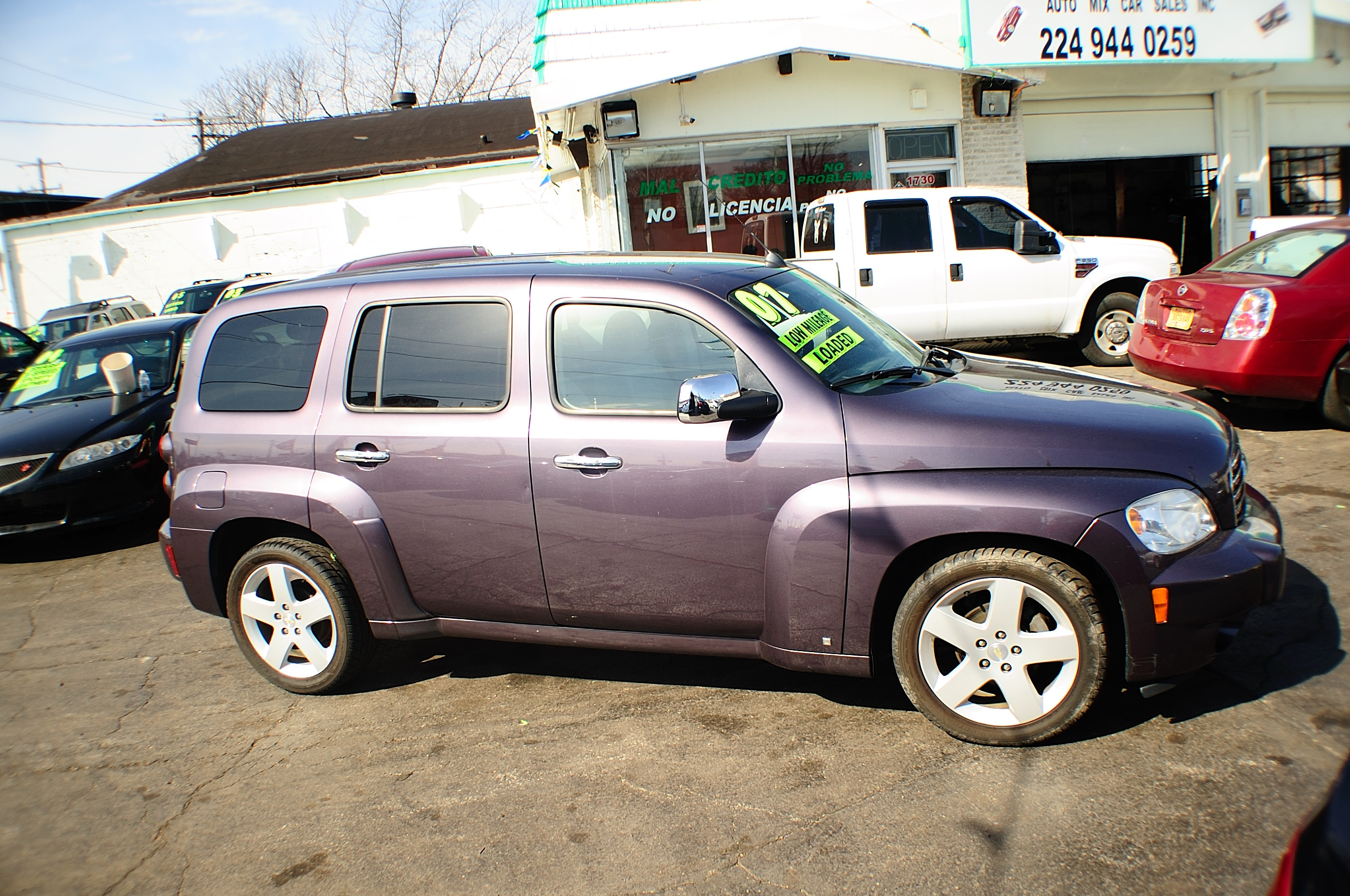 2007 Chevrolet HHR LT 4Dr Amethyst Wagon sale used car Bannockburn Barrington Beach Park