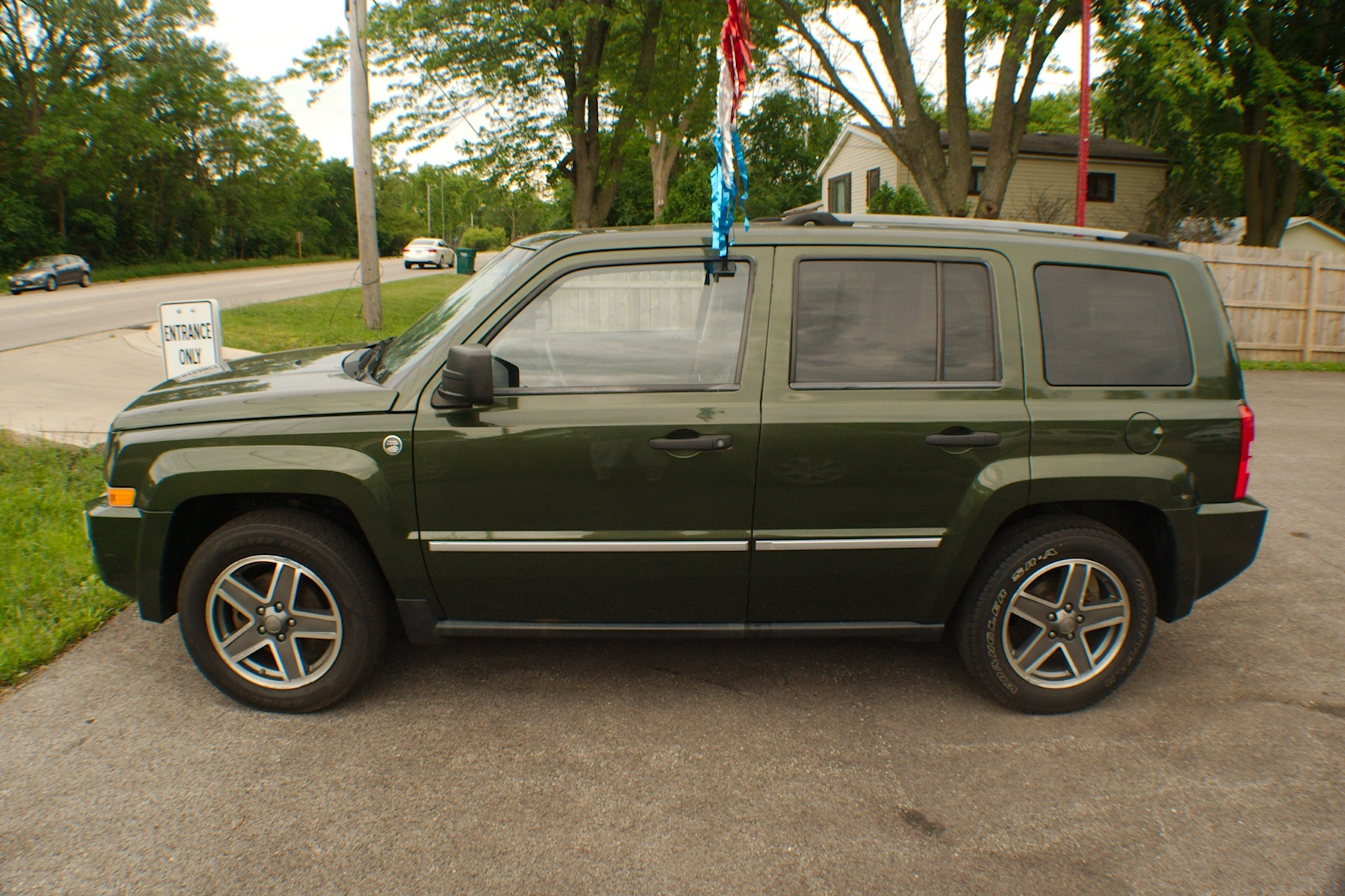 2009 jeep patriot 4x4 limited green suv sale. Black Bedroom Furniture Sets. Home Design Ideas