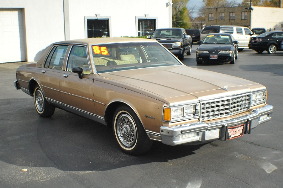 1985 Chevrolet Caprice Classic Sedan Chevy Best Car Sale