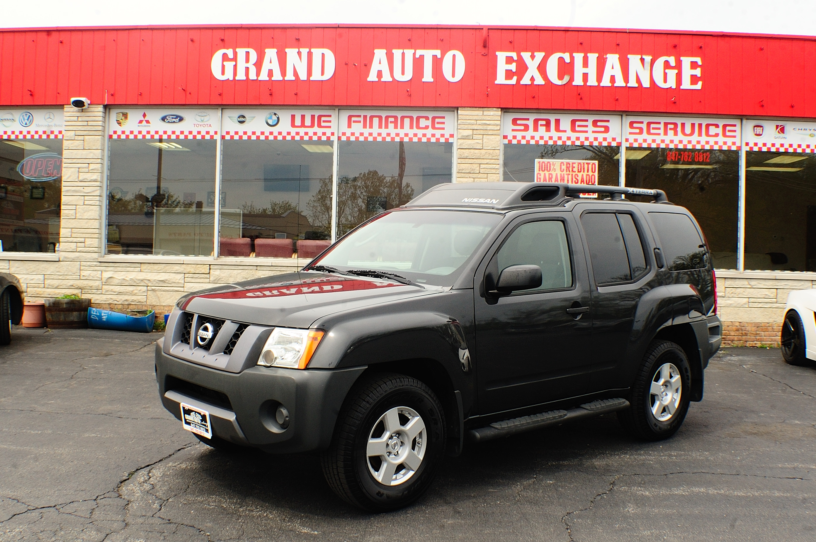 2008 Nissan Xterra Gray Used 4x4 Used SUV Sale Antioch Zion Waukegan Lake County Illinois