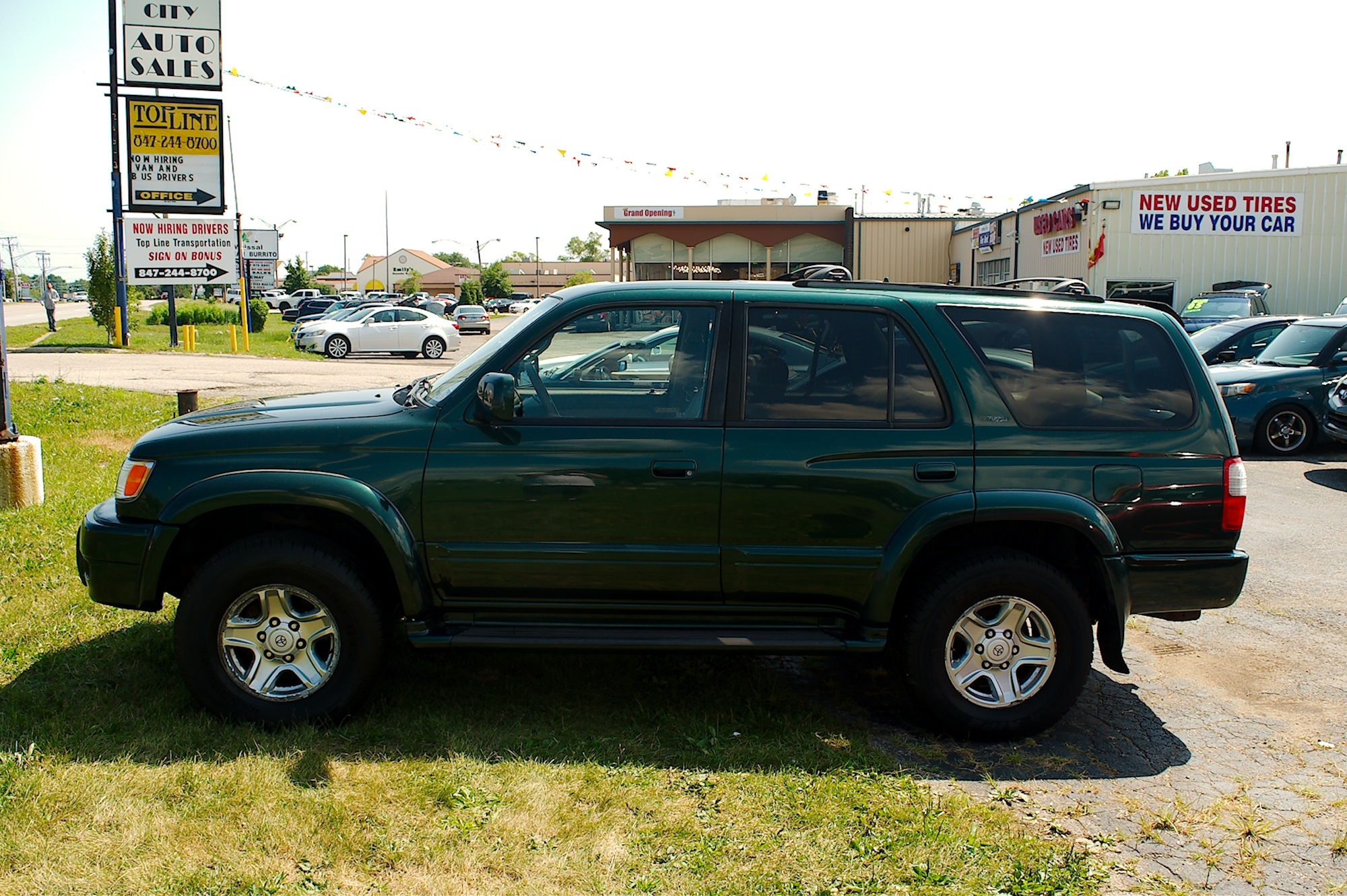 1999 Toyota 4Runner Green 4X4 Limited SUV Sale Antioch Zion Waukegan Lake County Illinois