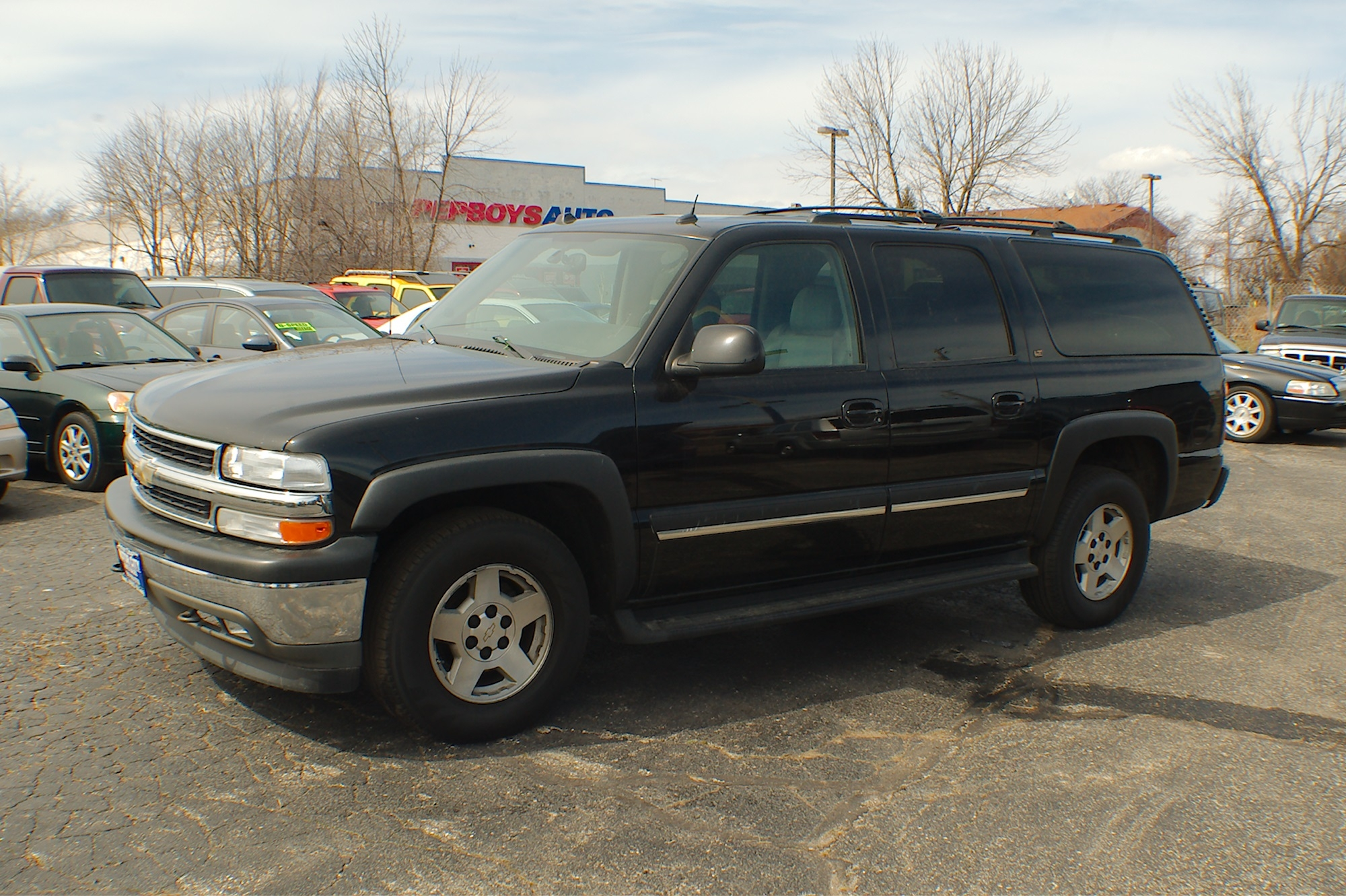 2005 Chevrolet Suburban LT Black 4x4 SUV Sale Antioch Zion Waukegan Lake County Illinois
