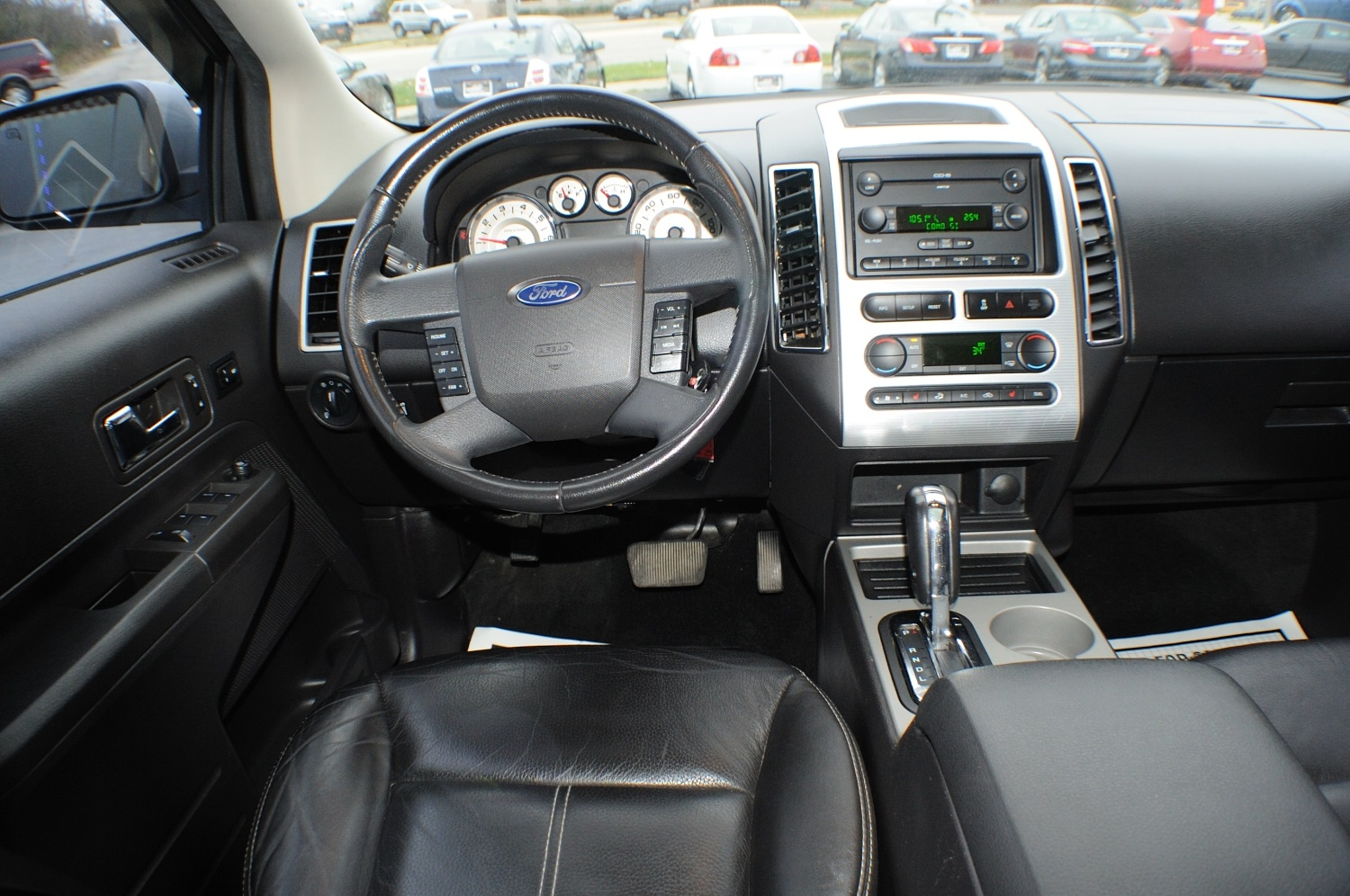 2007 Ford Edge SEL Silver Used SUV Sale Green Oaks Hainesville Hawthorne Woods