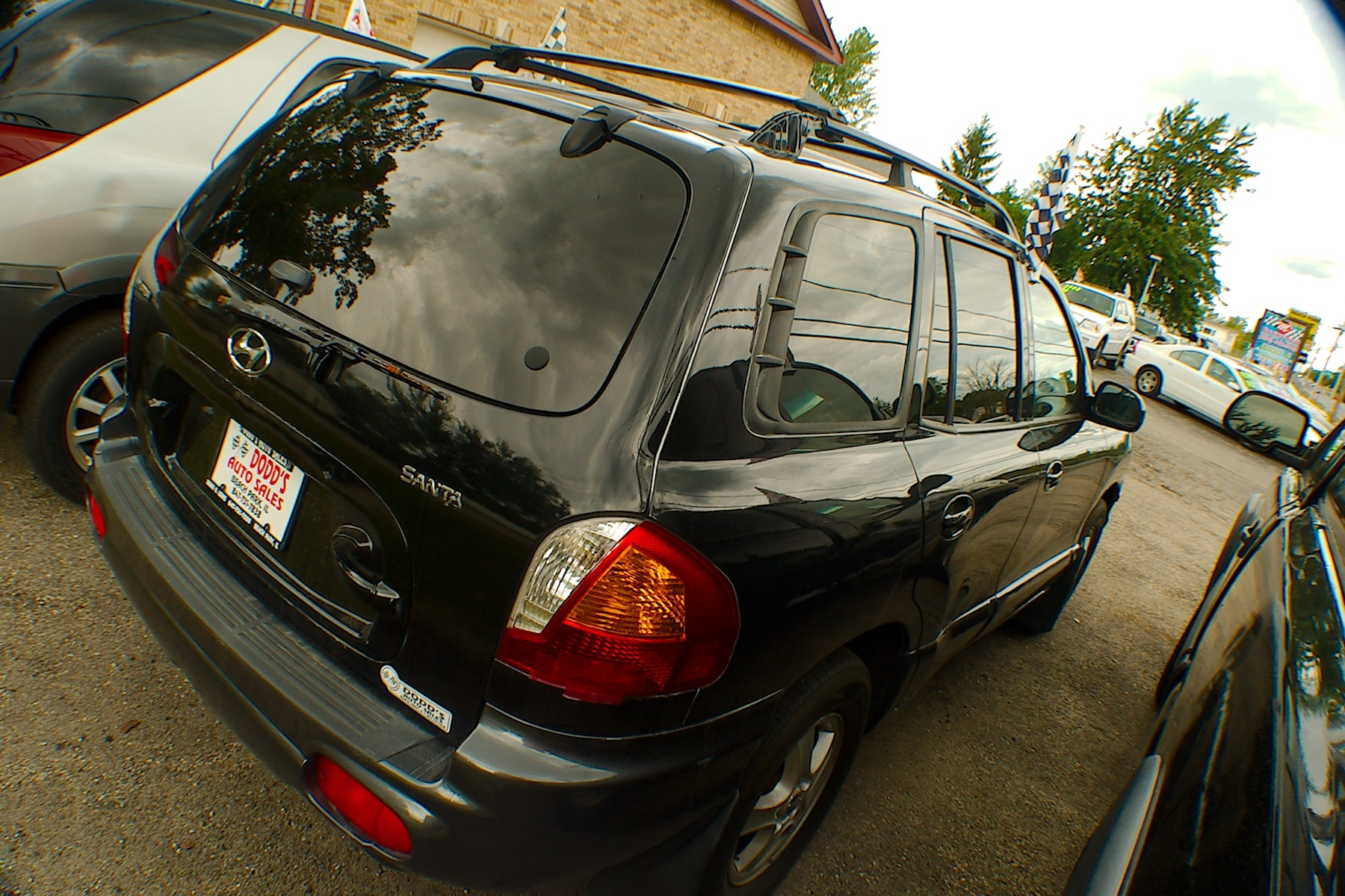2003 Hyundai Santa Fe Black SUV Sale Buffalo Grove Deerfield Fox Lake Antioch
