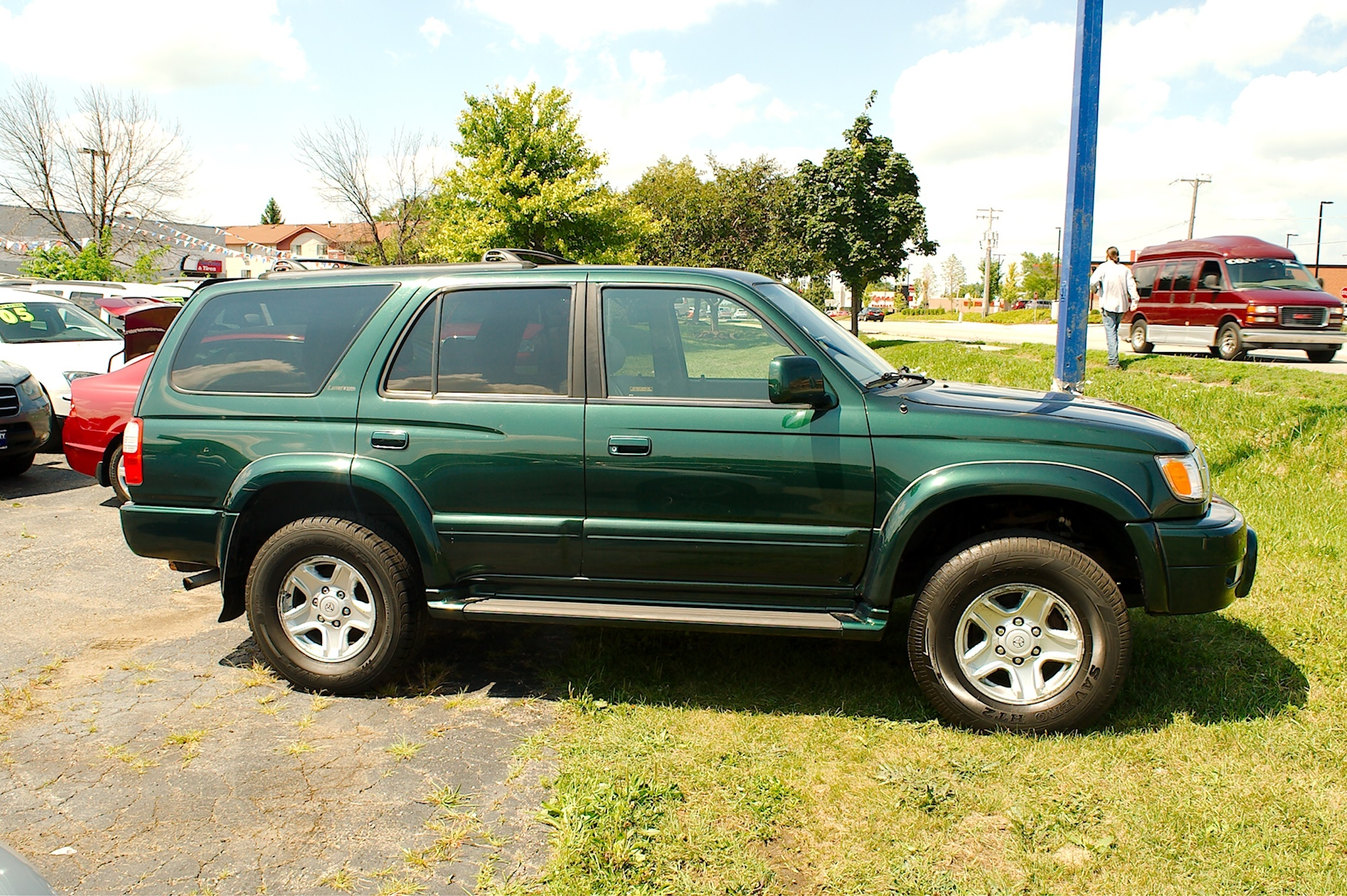 1999 Toyota 4Runner Green 4X4 Limited SUV Sale Bannockburn Barrington Beach Park