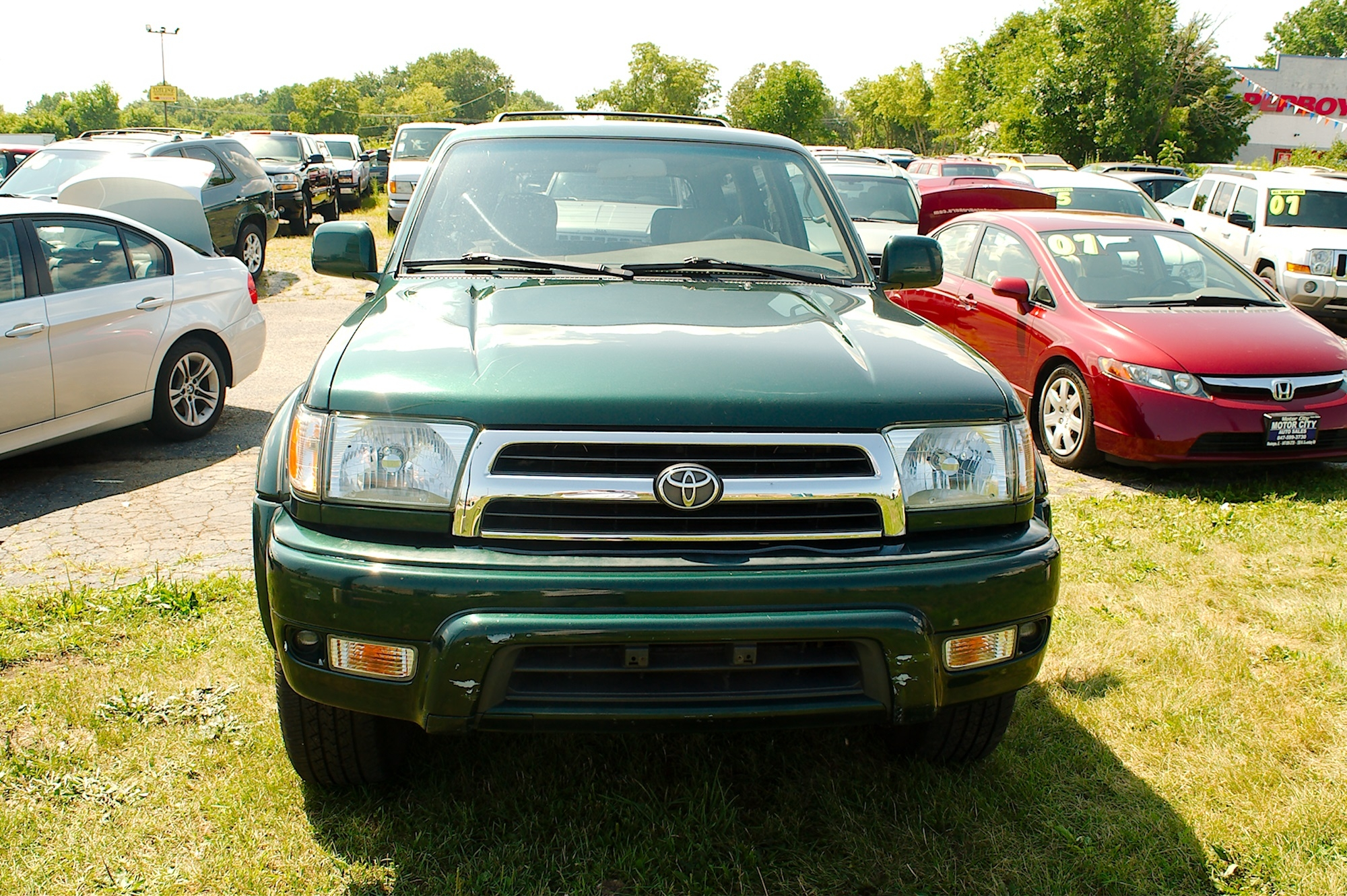 1999 Toyota 4Runner Green 4X4 Limited SUV Sale Gurnee Kenosha Mchenry Chicago Illinois