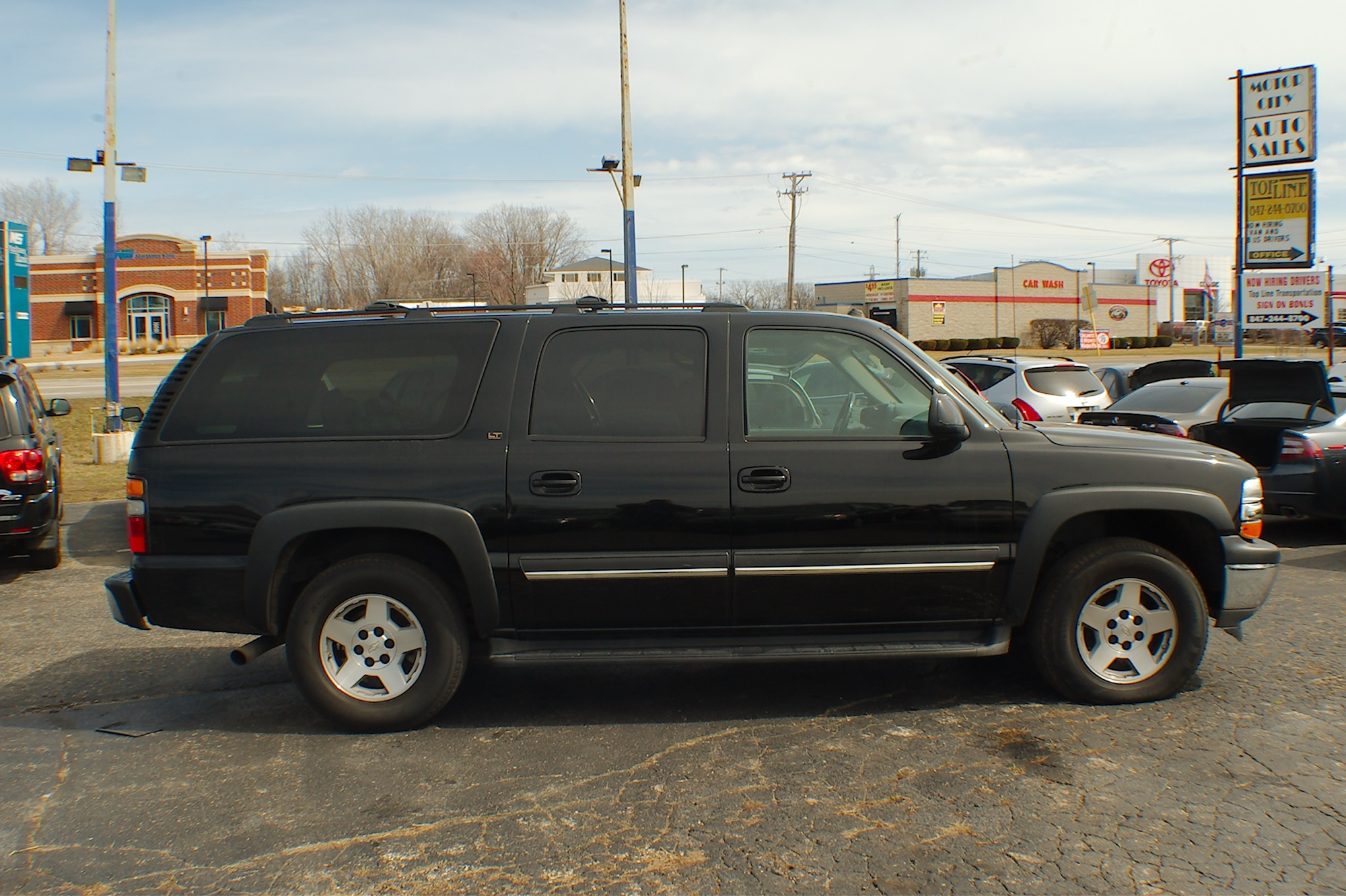 2005 Chevrolet Suburban LT Black 4x4 SUV Sale Bannockburn Barrington Beach Park