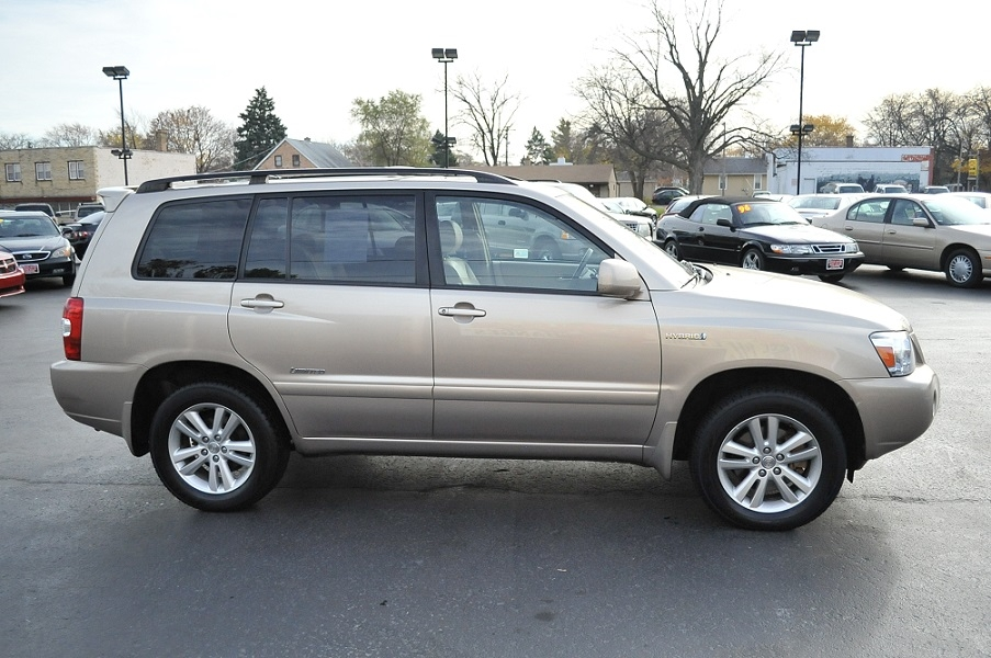 2007 toyota highlander limited tan suv sale web page advertiser