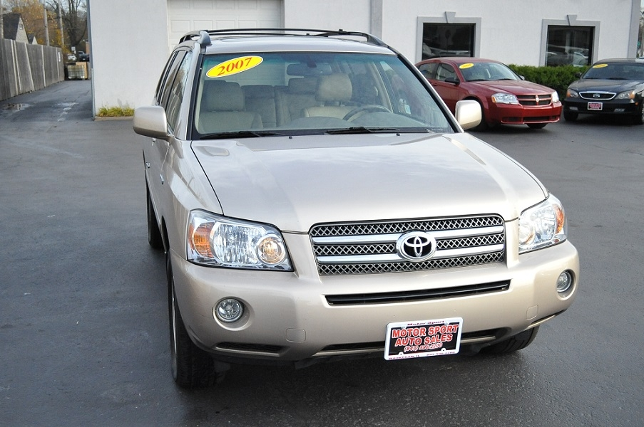2007 Toyota Highlander Limited Tan Suv Sale