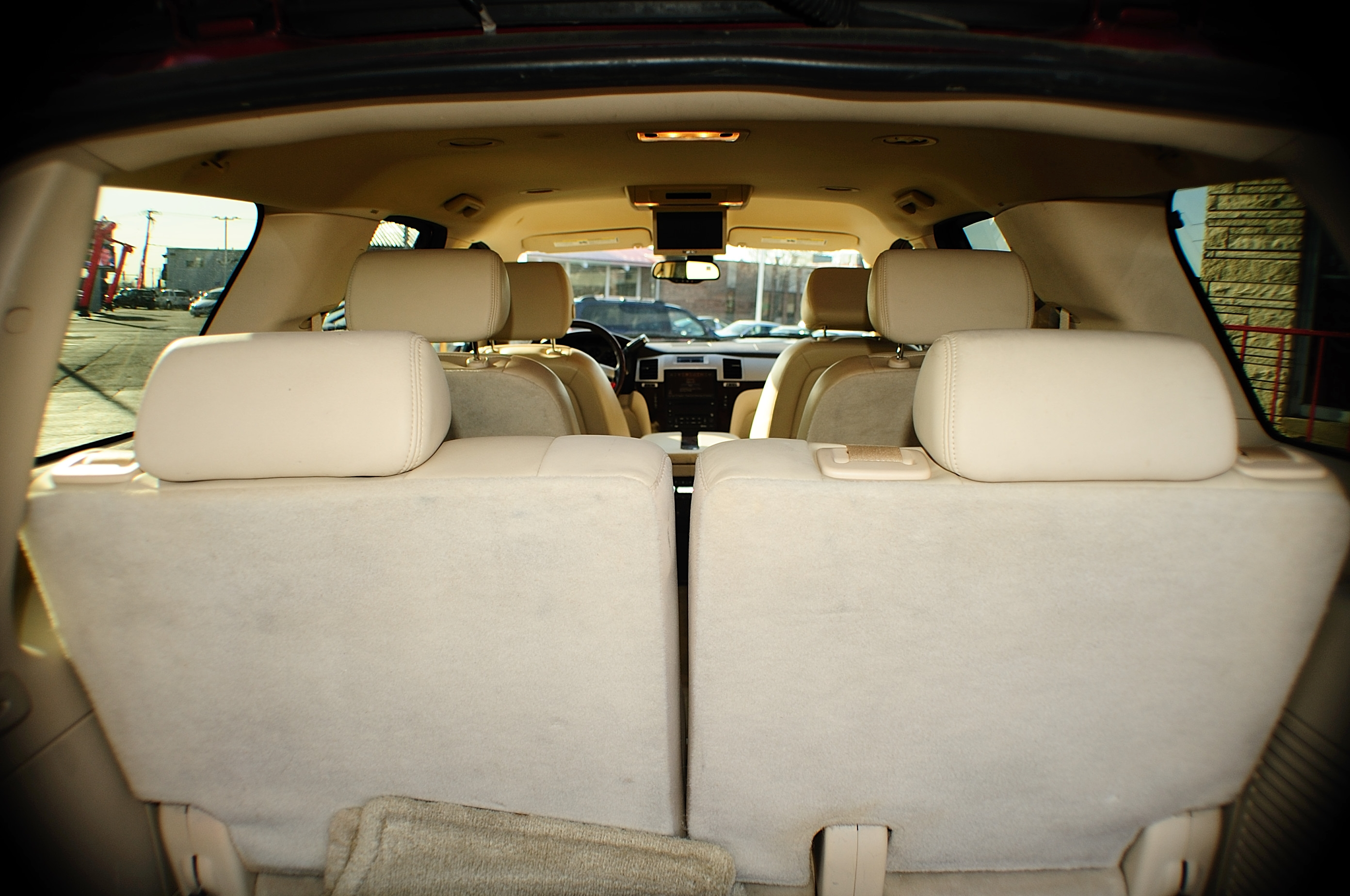 2007 Cadillac Escalade Red 4x4 Used SUV Sale Chicago Illinois