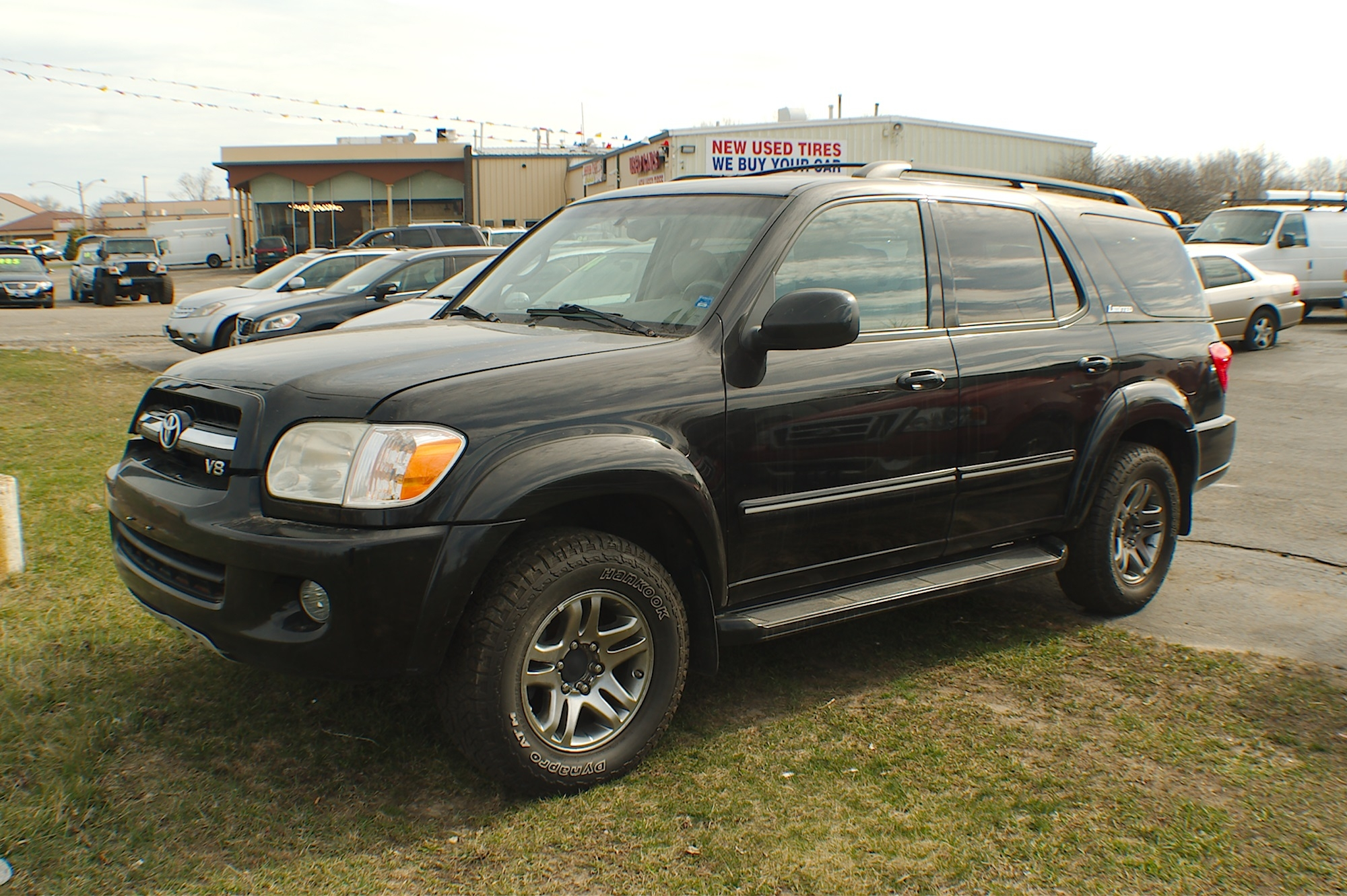 2005 Toyota Sequoia 4x4 Black Used SUV Sale Antioch Zion Waukegan Lake County Illinois