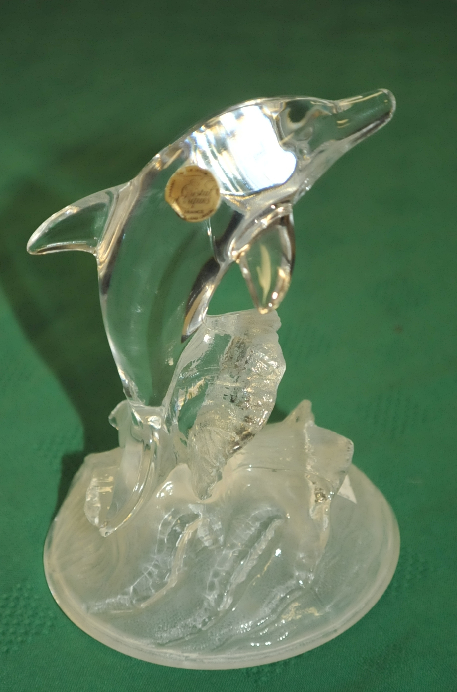 DArque Crystal Dolphin France Glass Art Sale best price dealer