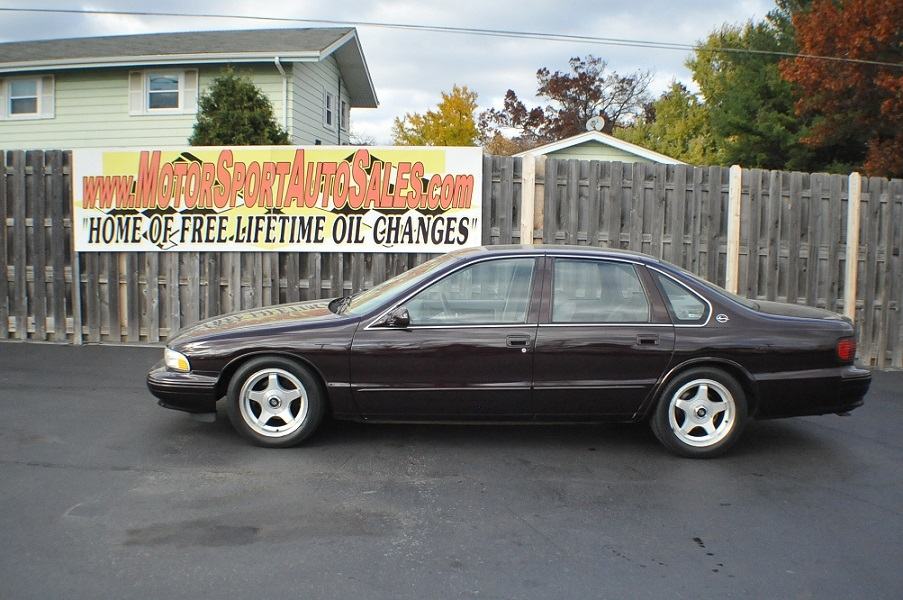1996 chevrolet impala ss chevy used collector car sale waukegan. Black Bedroom Furniture Sets. Home Design Ideas