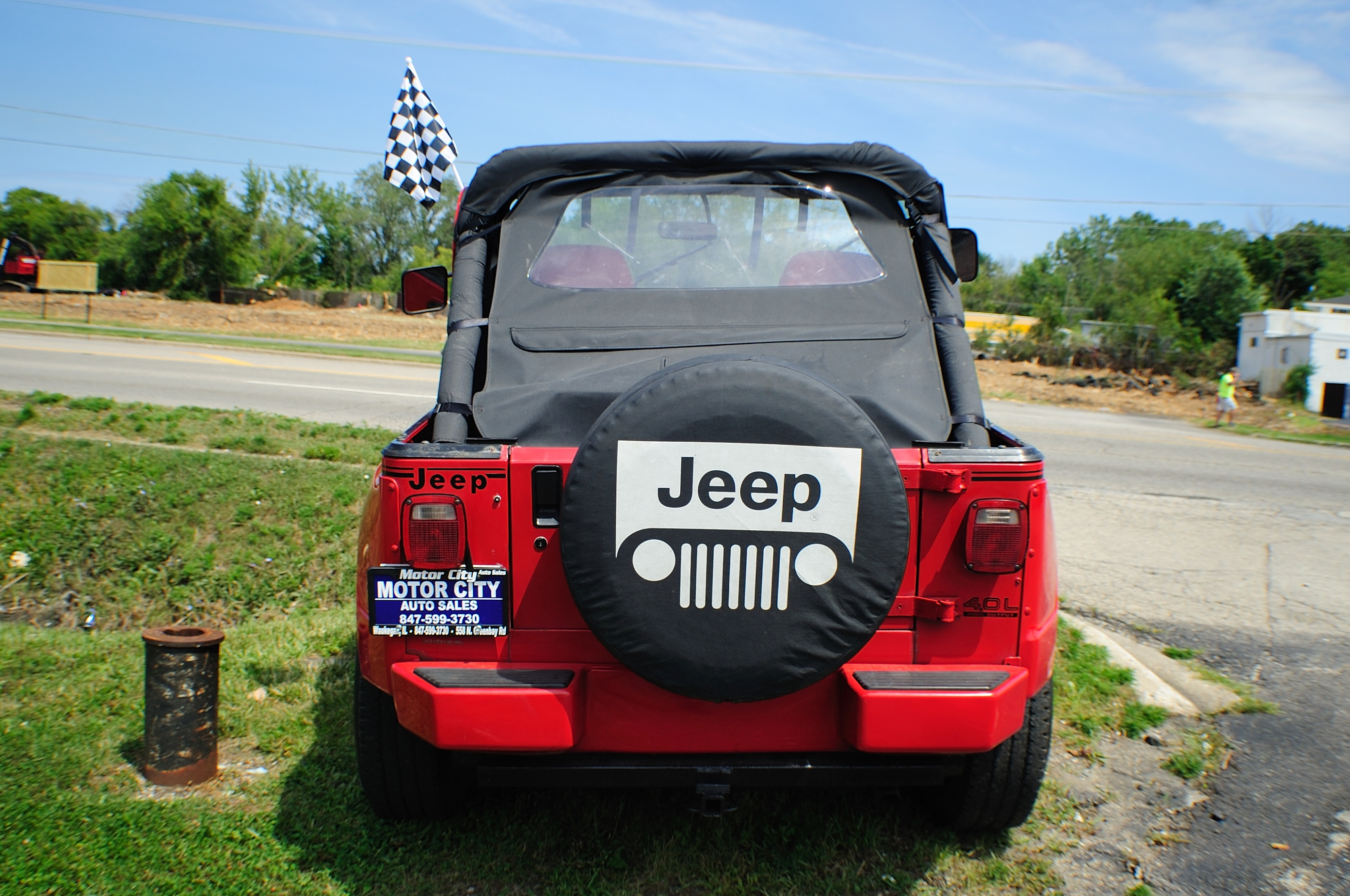 1991 Jeep Wrangler Renegade Red 4x4 Sale Waukegan Kenosha