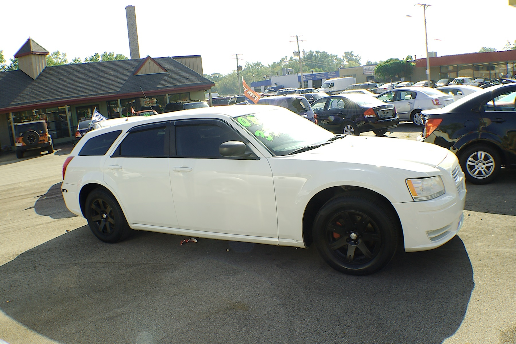 2008 Dodge Magnum White Used Sedan Wagon Sale Bannockburn Barrington Beach Park