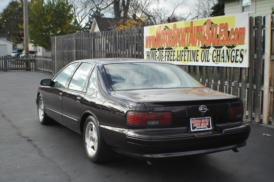 1996 Chevrolet Impala SS Chevy Used Collector Car Sale Waukegan