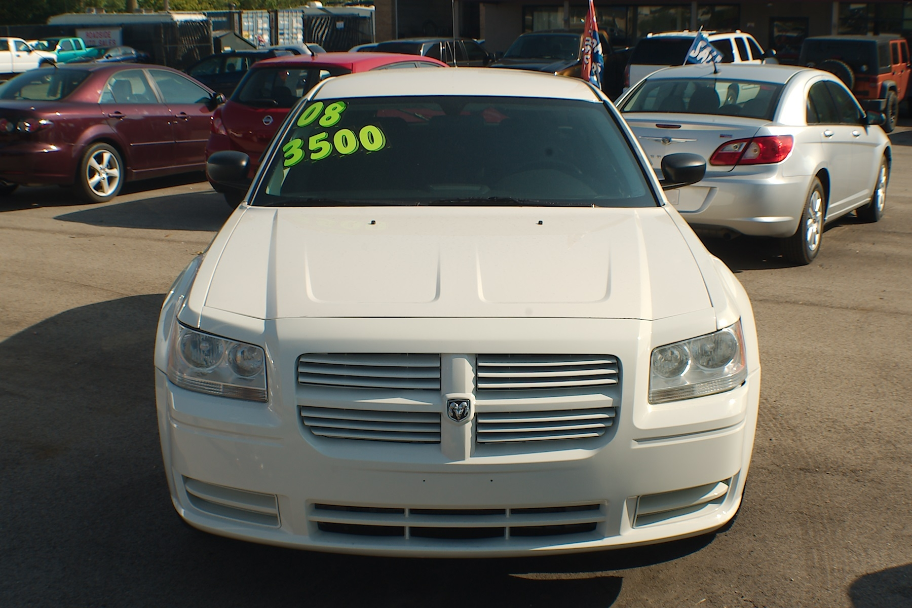 2008 Dodge Magnum White Used Sedan Wagon Sale Gurnee Kenosha Mchenry Chicago Illinois