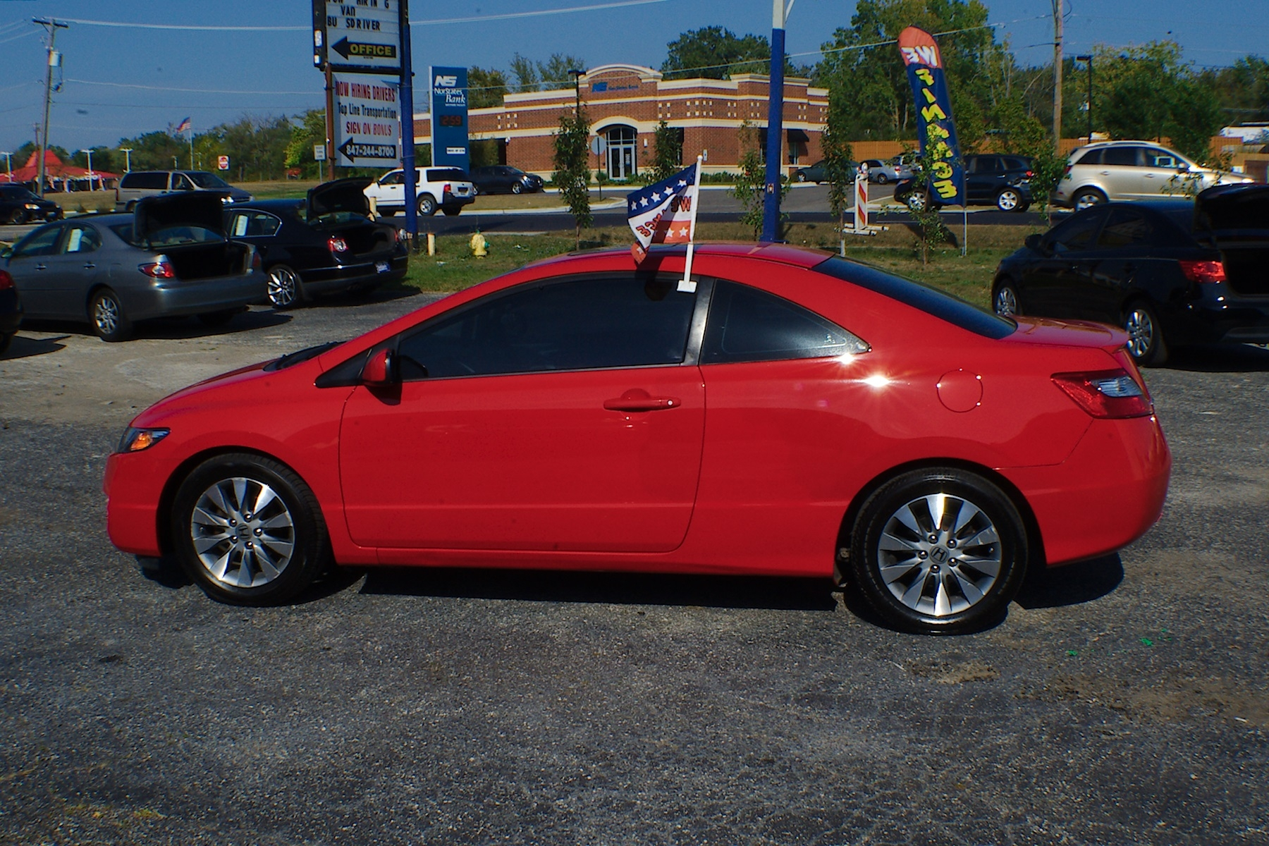 2011 Honda Civic Red Sport Coupe Used Car Sale