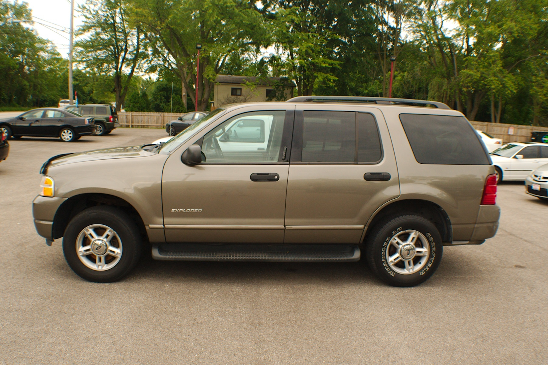 2003 ford explorer xlt pewter 4x4 used suv sale. Black Bedroom Furniture Sets. Home Design Ideas