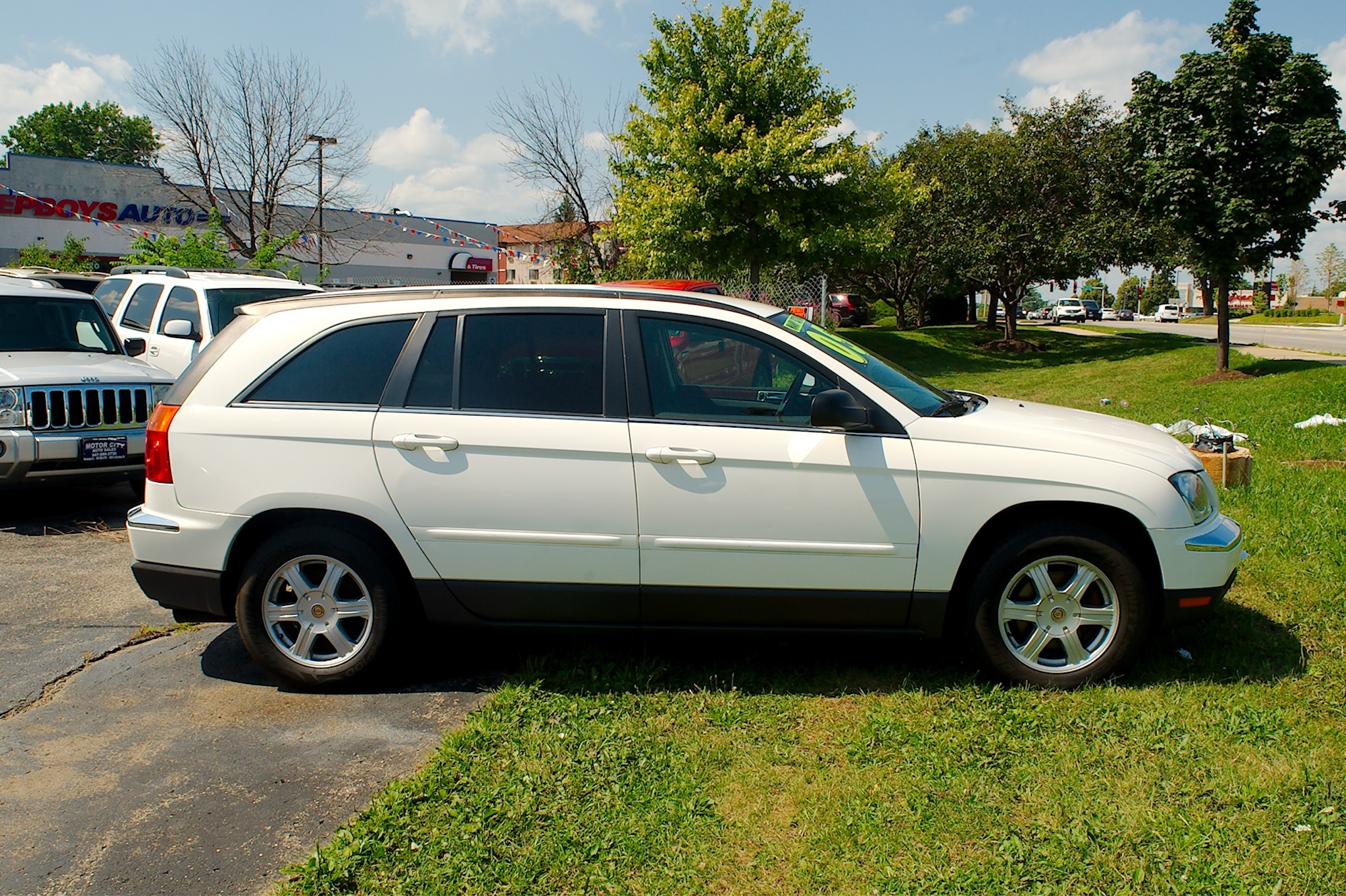 2005 Chrysler Pacifica White Wagon Sale Antioch Zion Waukegan Lake County Illinois