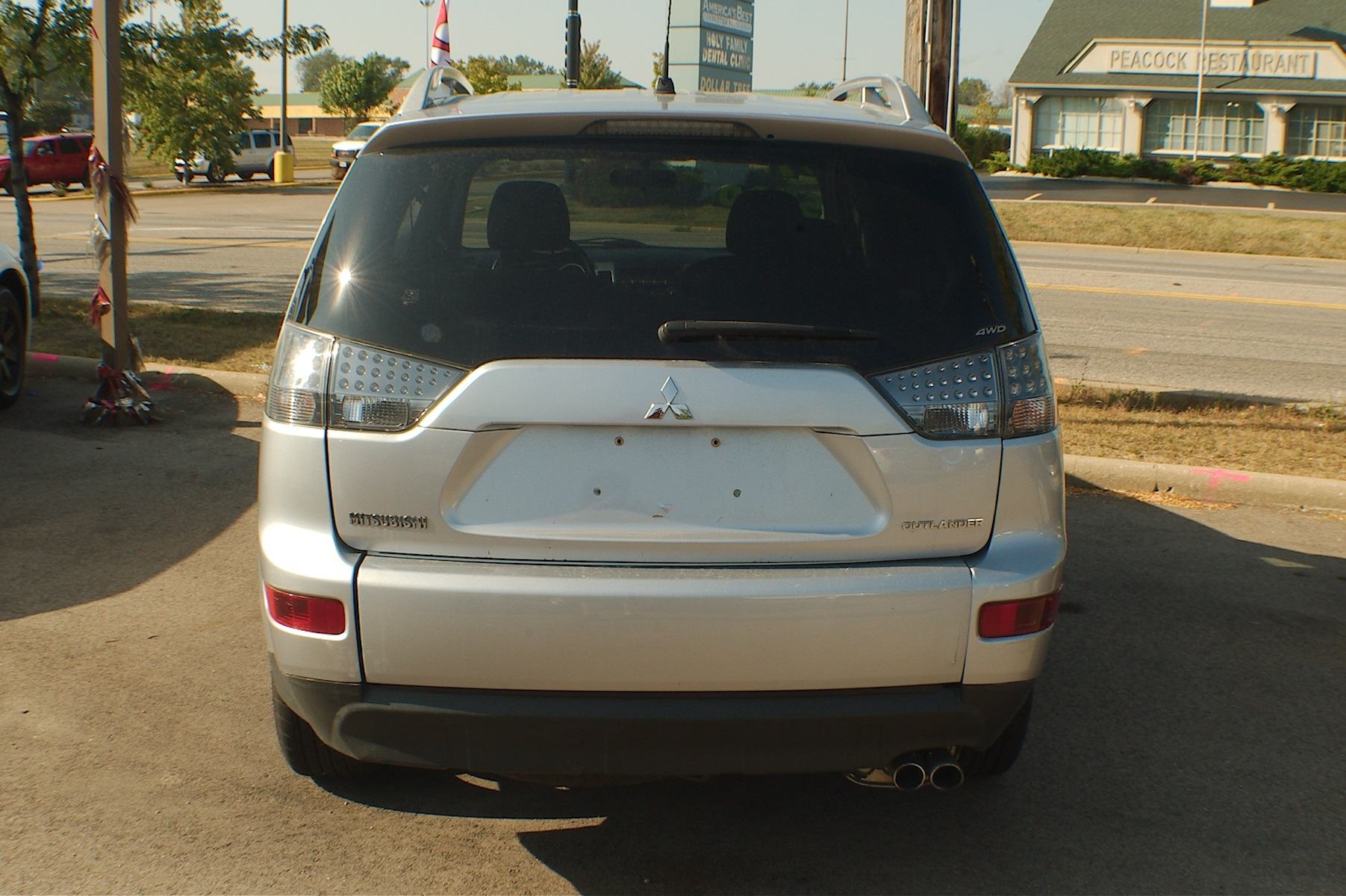 2007 Mitsubishi Outlander Silver SUV Wagon 4x4 Sale Buffalo Grove Deerfield Fox Lake Antioch