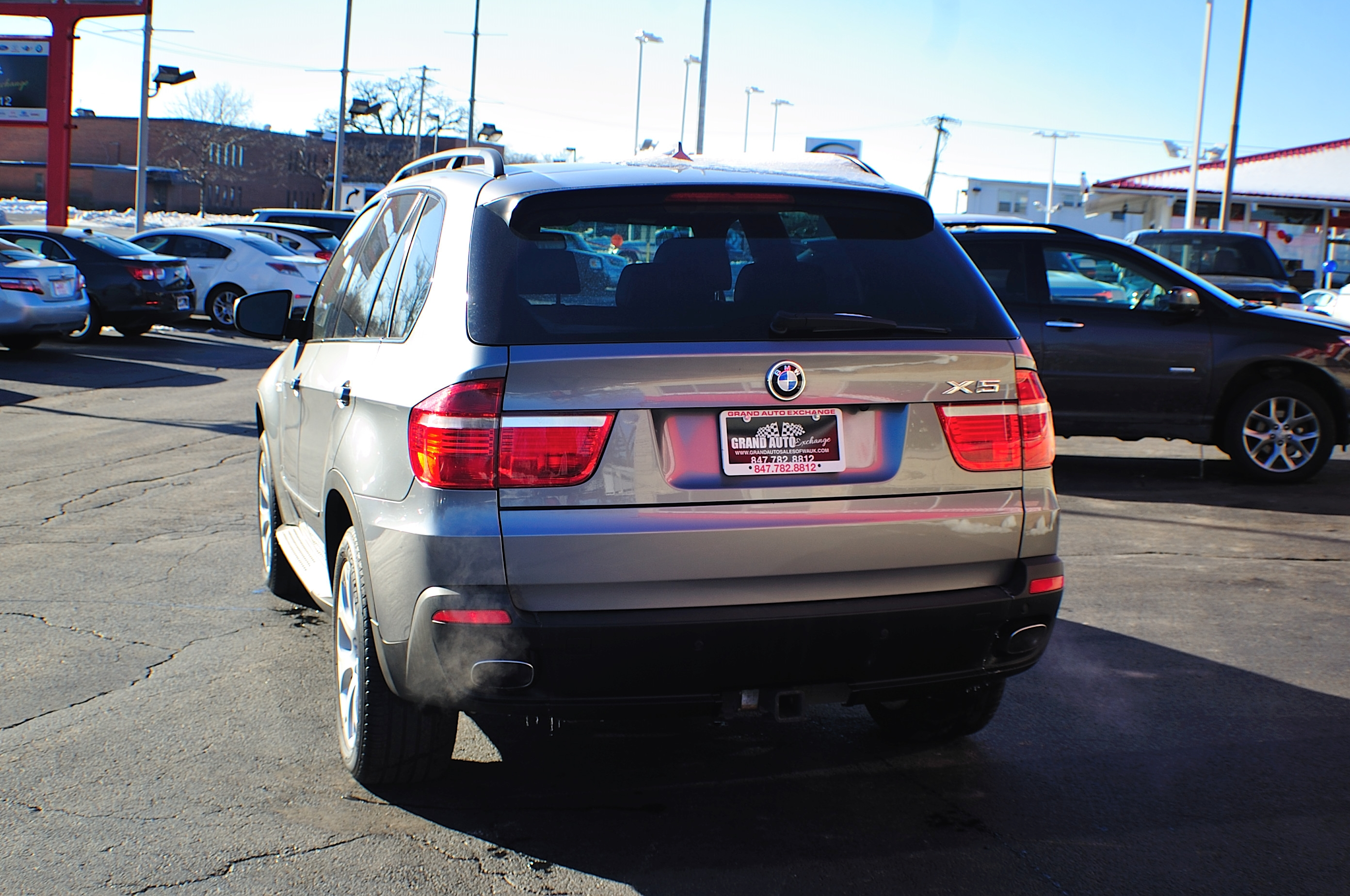 2007 BMW X5 Gray 4x4 Sport Used SUV Sale Beach Park Buffalo Grove