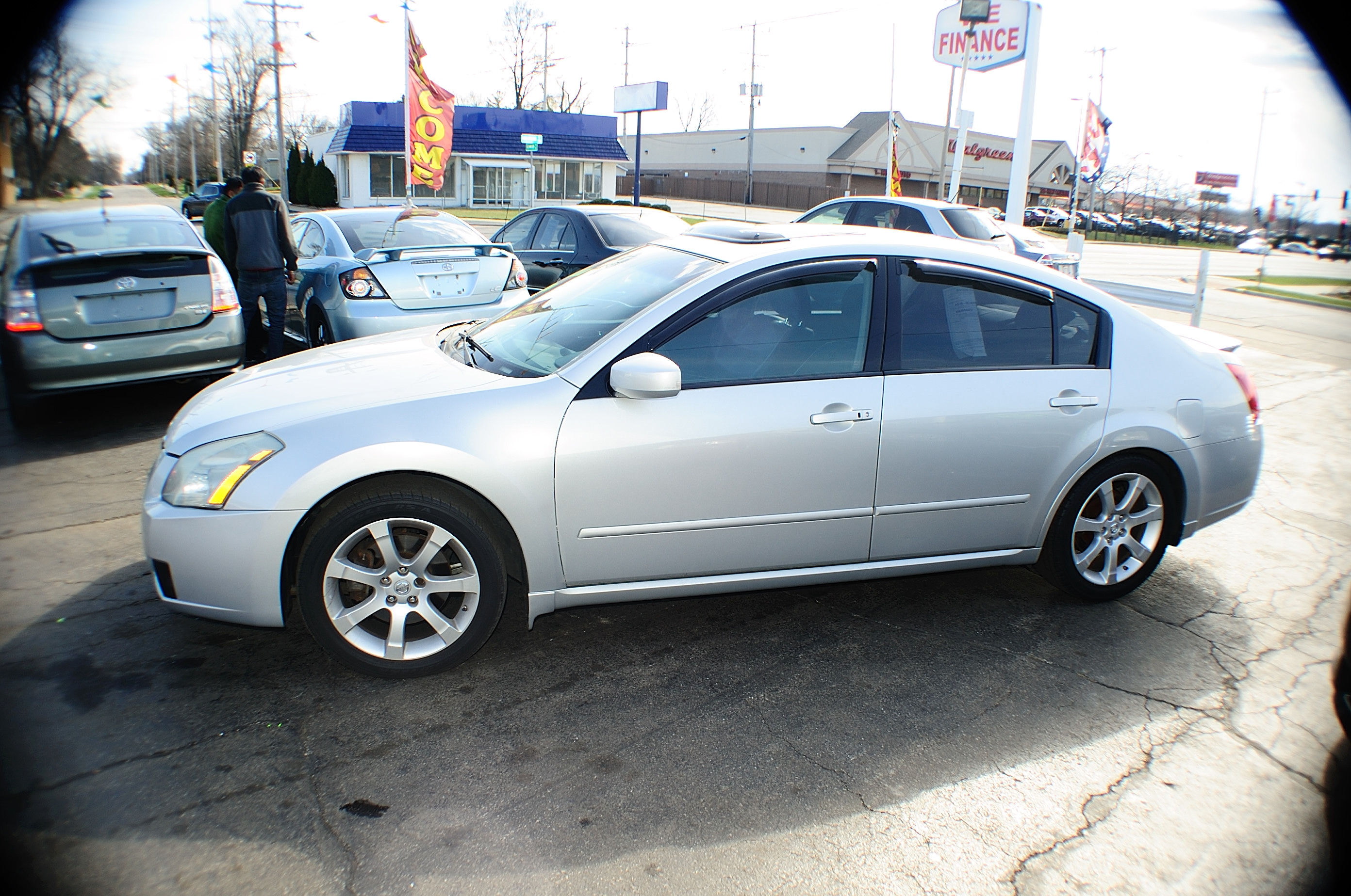Nissan Dealers In Illinois >> 2007 Nissan Maxima SE 4Dr Silver Sedan used car