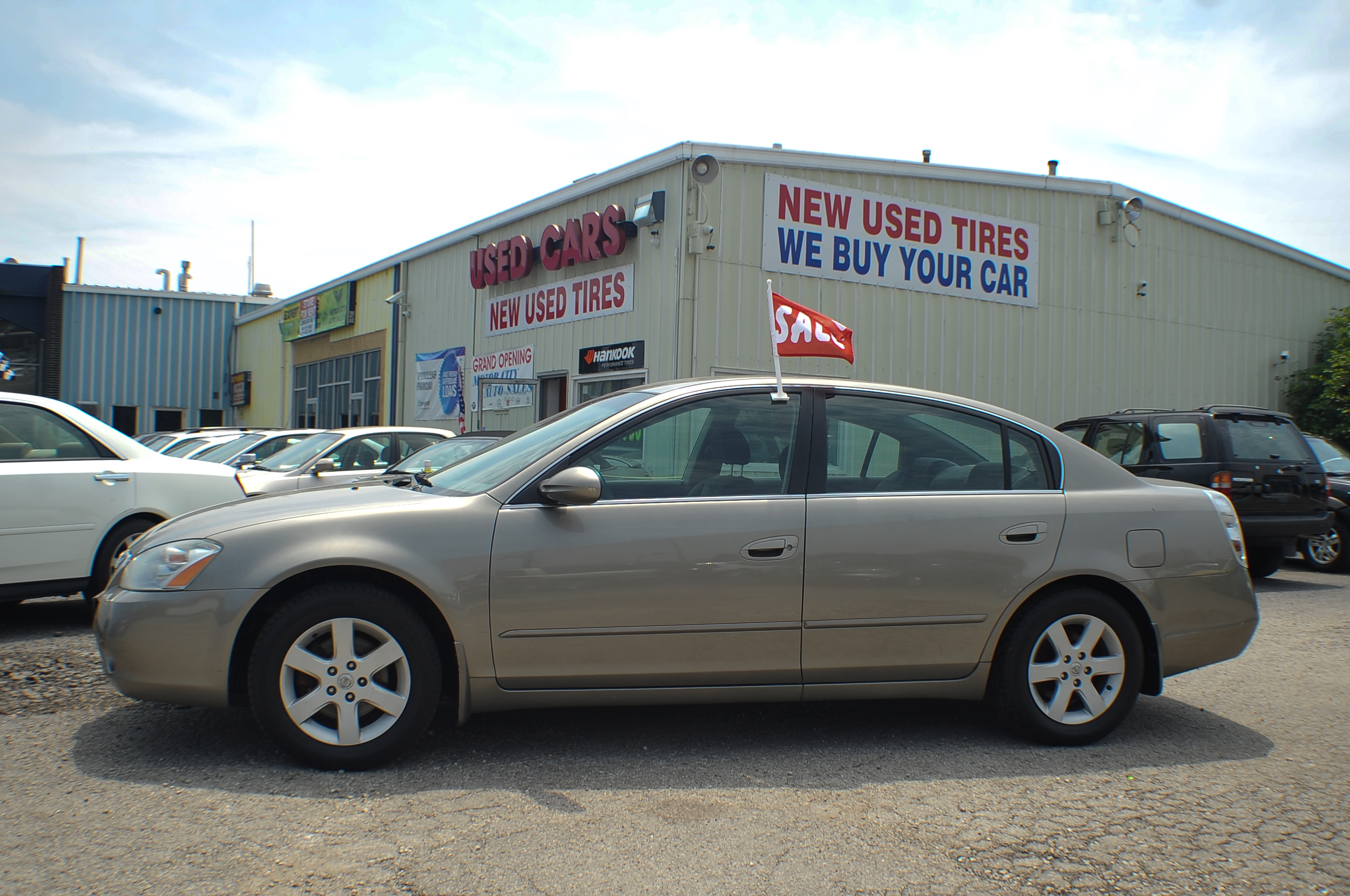 2004 nissan altima 2 5s sand sedan used car sale