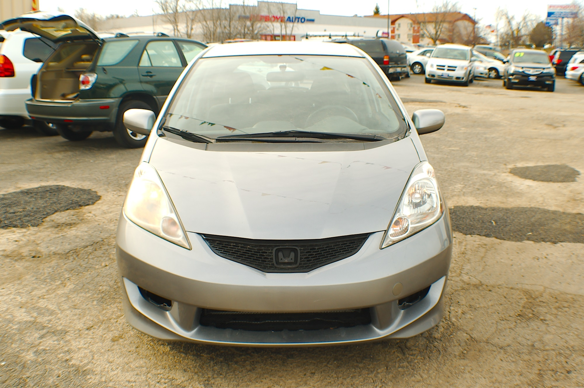 2009 Honda Fit Gray Hatchback Used Car Sale Bannockburn Barrington Beach Park