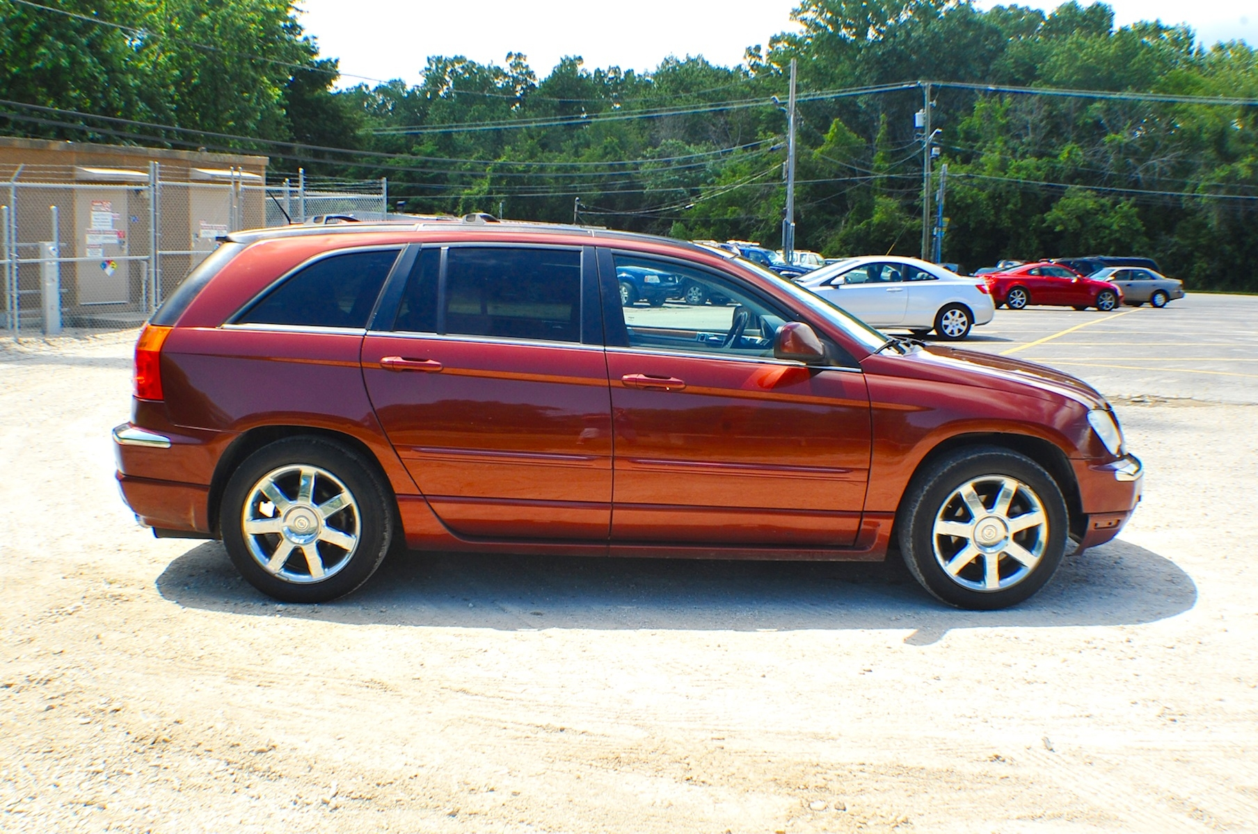 2007 Chrysler Pacifica Bronze Limited SUV Sale Bannockburn Barrington Beach Park