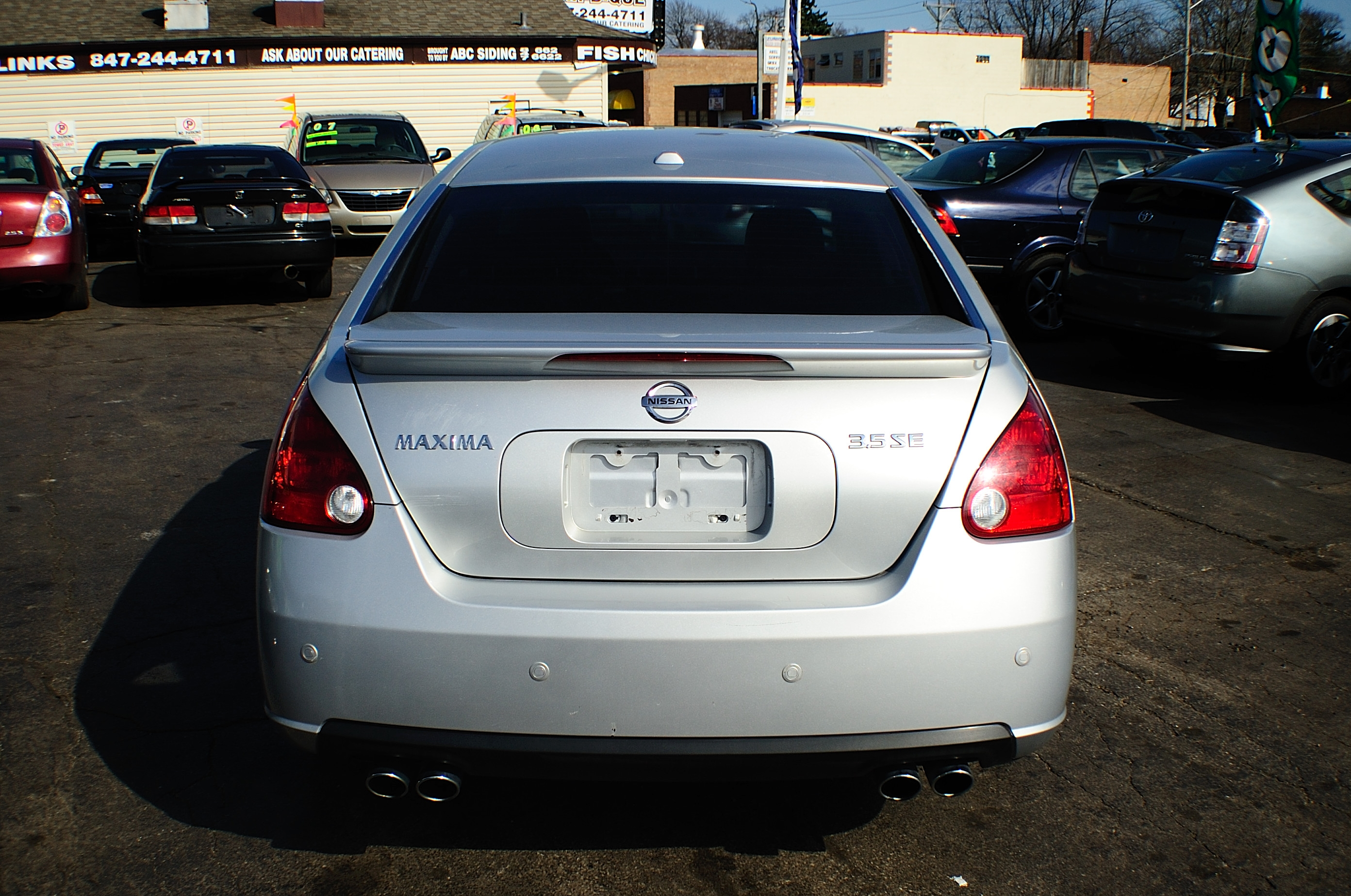 Autos For Sale >> 2007 Nissan Maxima SE 4Dr Silver Sedan used car