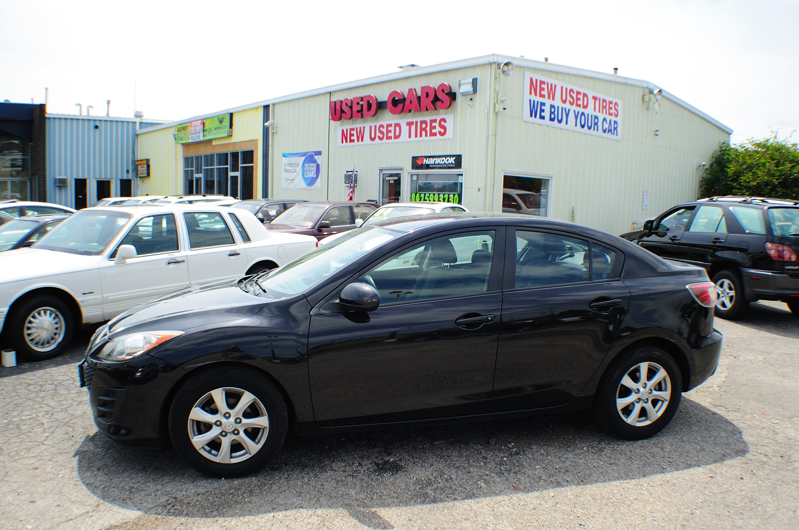 2010 Mazda 3i Black Sport Sedan used car Sale Antioch Grayslake